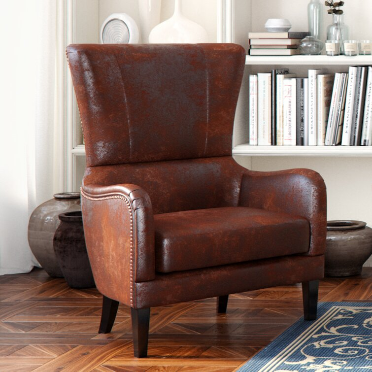 Alcott Hill Gordon High Back Club Chair Amp Reviews Wayfair