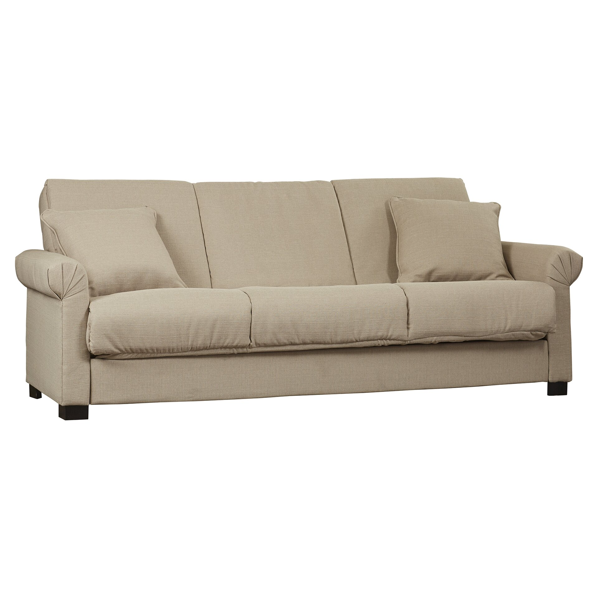 Alcott Hill Lawrence Full Convertible Upholstered Sleeper