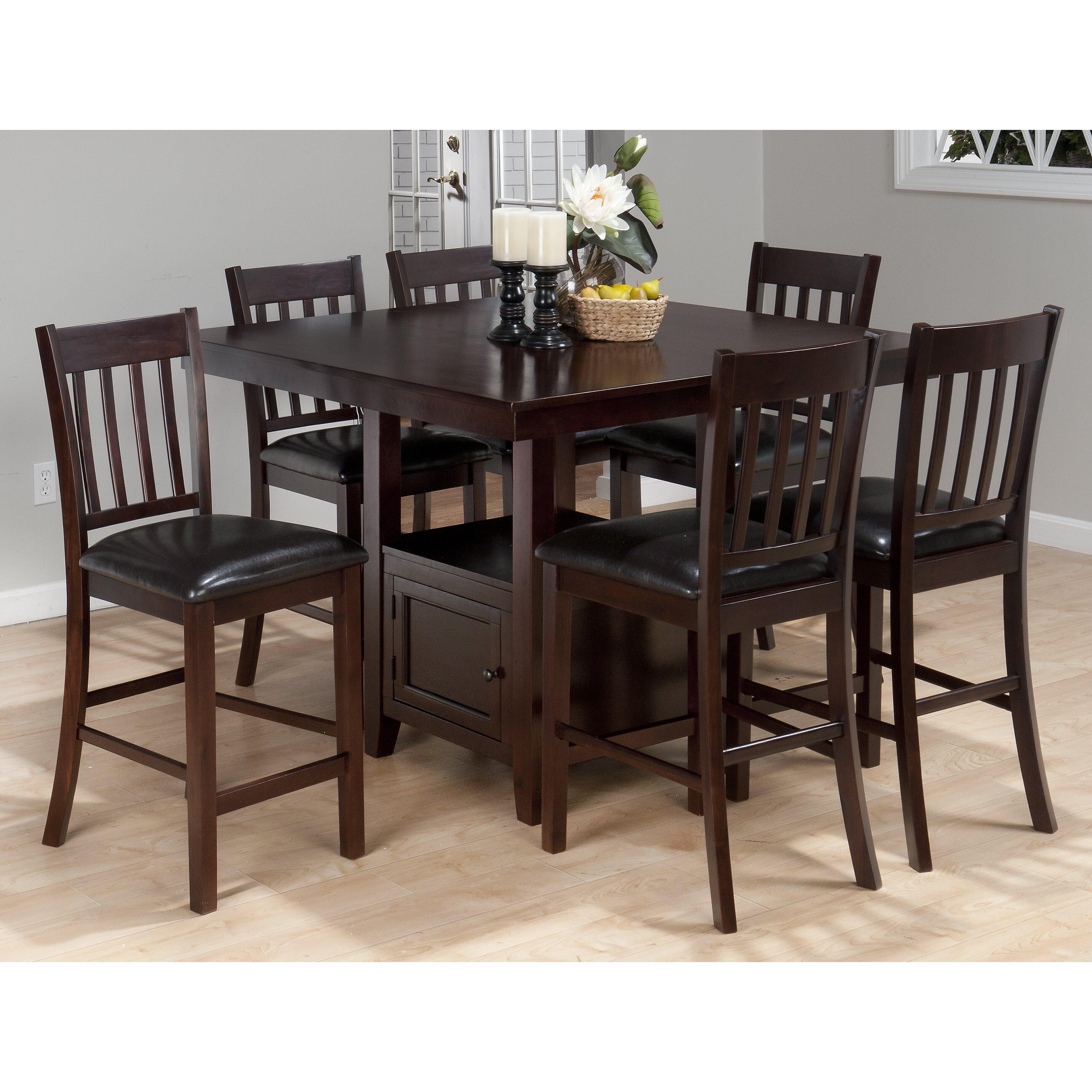 Alcott hill oakmeadow 7 piece dining set reviews wayfair for 7 piece dining set