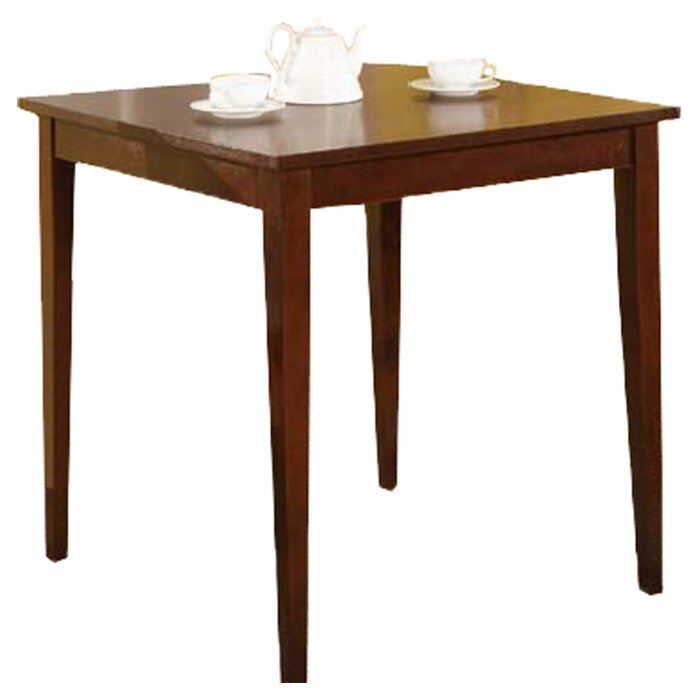 alcott hill ameswood square dining table reviews wayfair