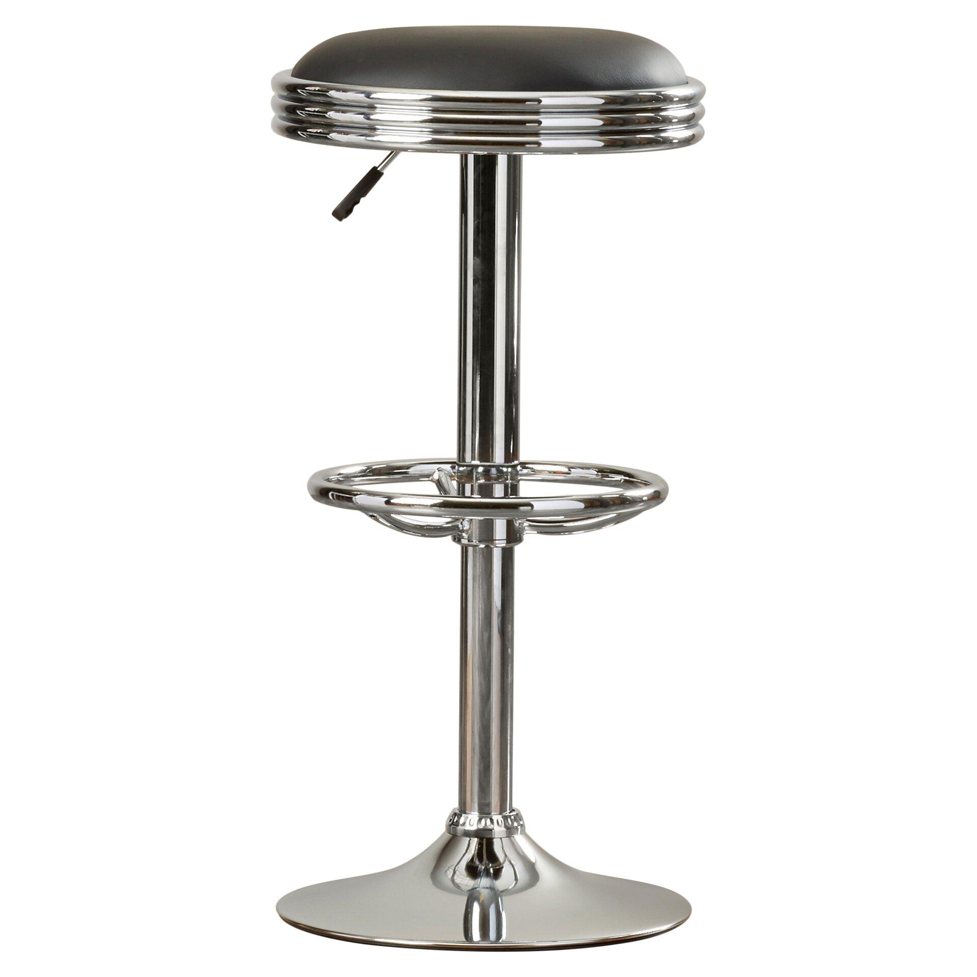 Alcott Hill Findlay Adjustable Height Swivel Bar Stool