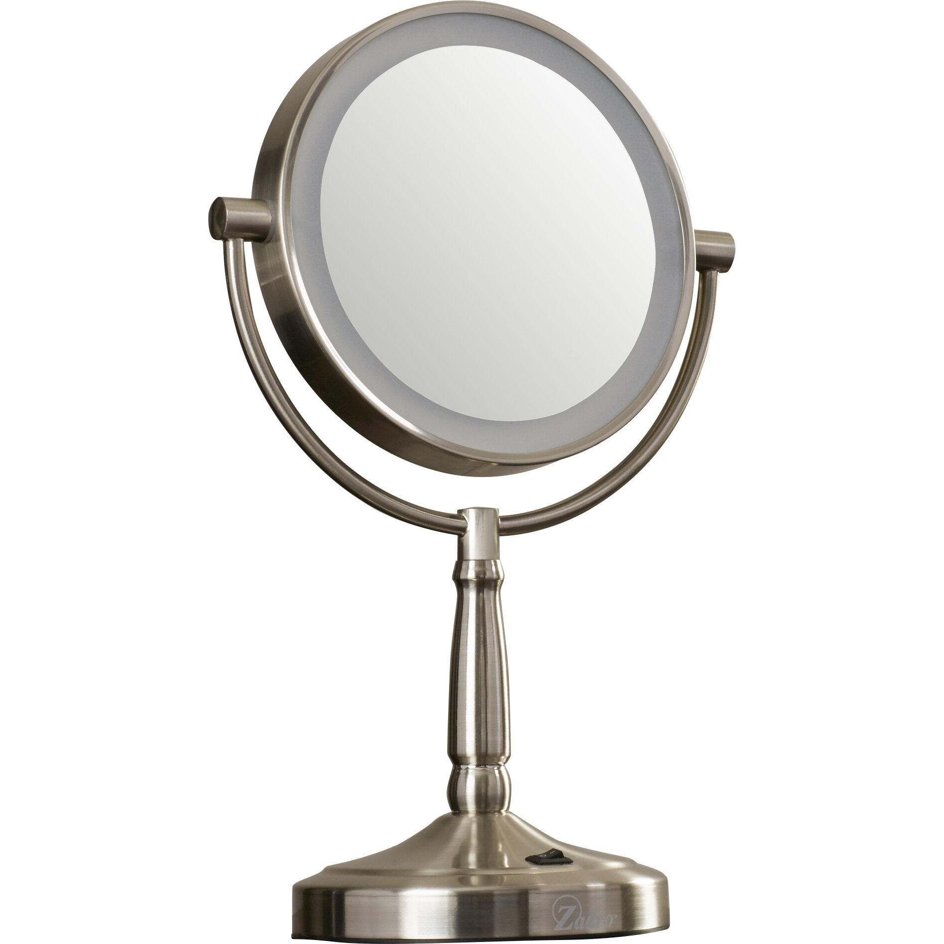 Vanity Mirror With Lights Cordless : Alcott Hill Cordless Dual-Sided LED Lighted Vanity Mirror & Reviews Wayfair.ca
