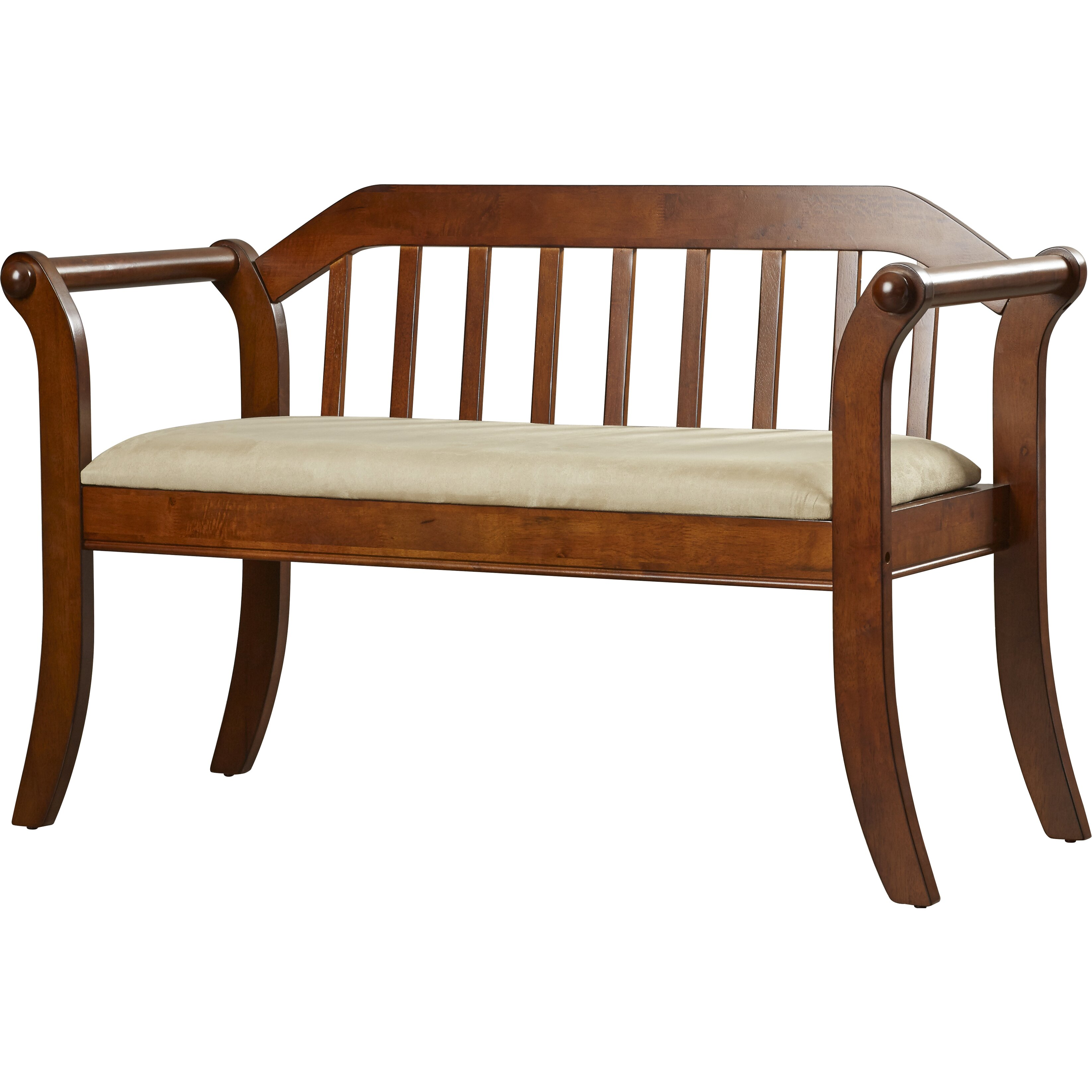 Alcott Hill Yorkshire Wood Entryway Bench Reviews Wayfair