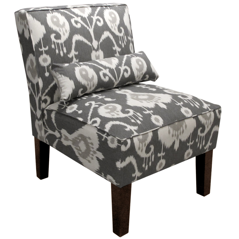 Alcott Hill Ikat Slipper Chair & Reviews