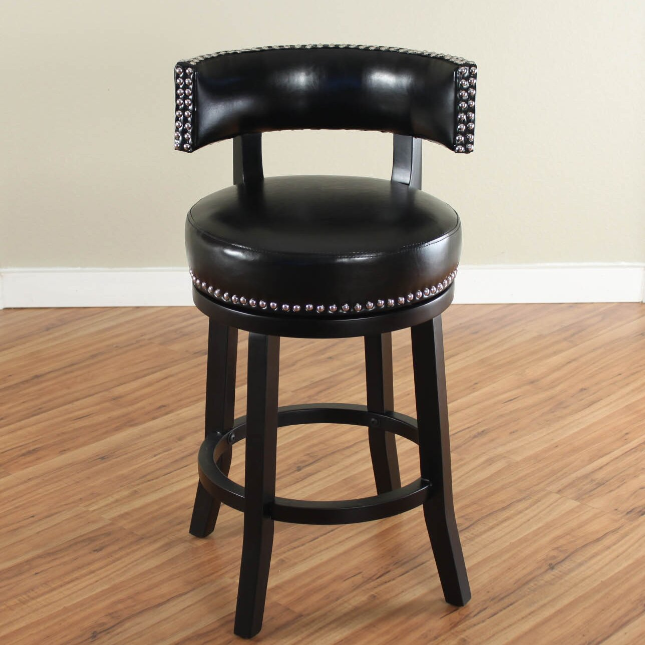 Alcott Hill Cyril 26 Quot Swivel Bar Stool With Cushion