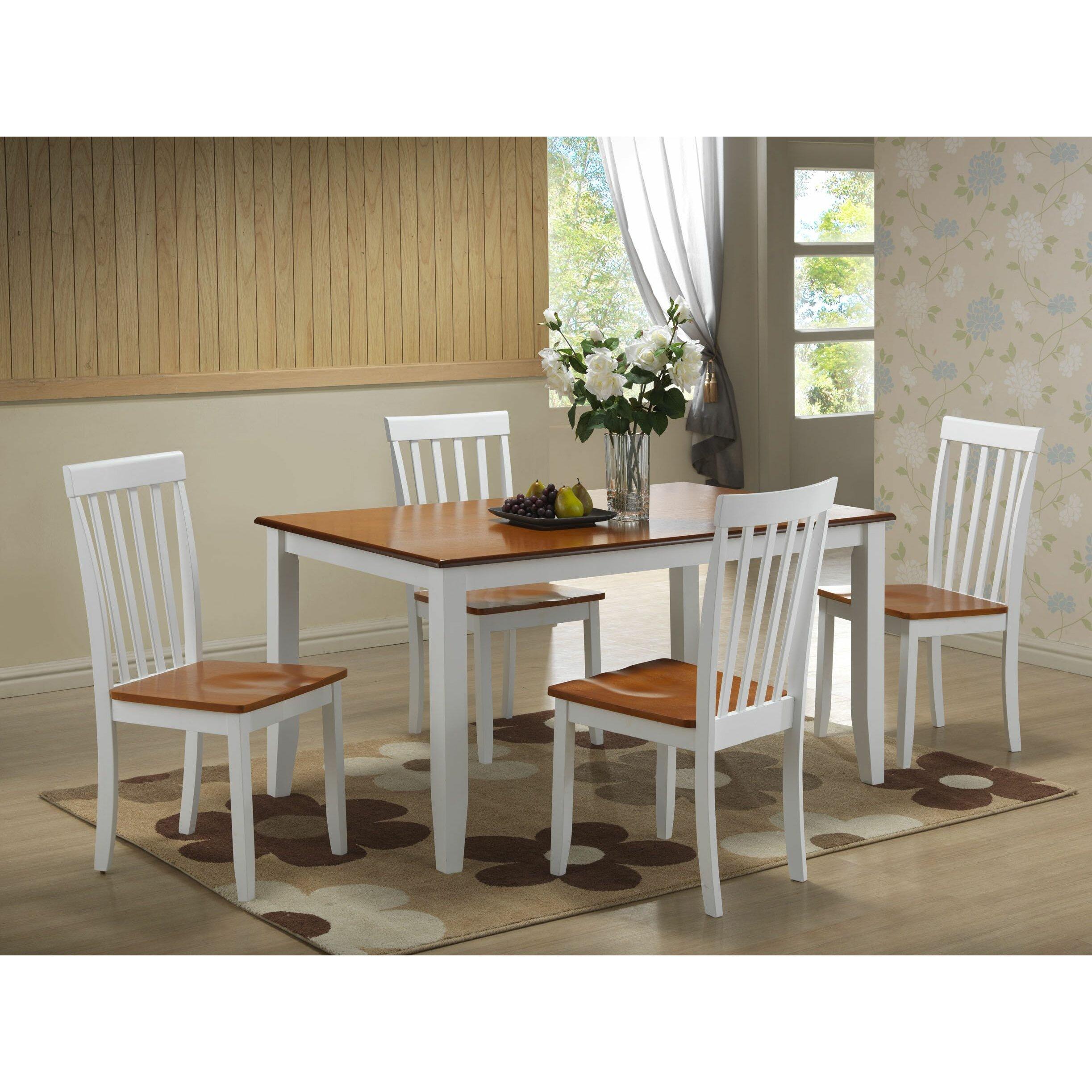 Five Piece Dining Room Sets: Alcott Hill Ann 5 Piece Dining Set & Reviews