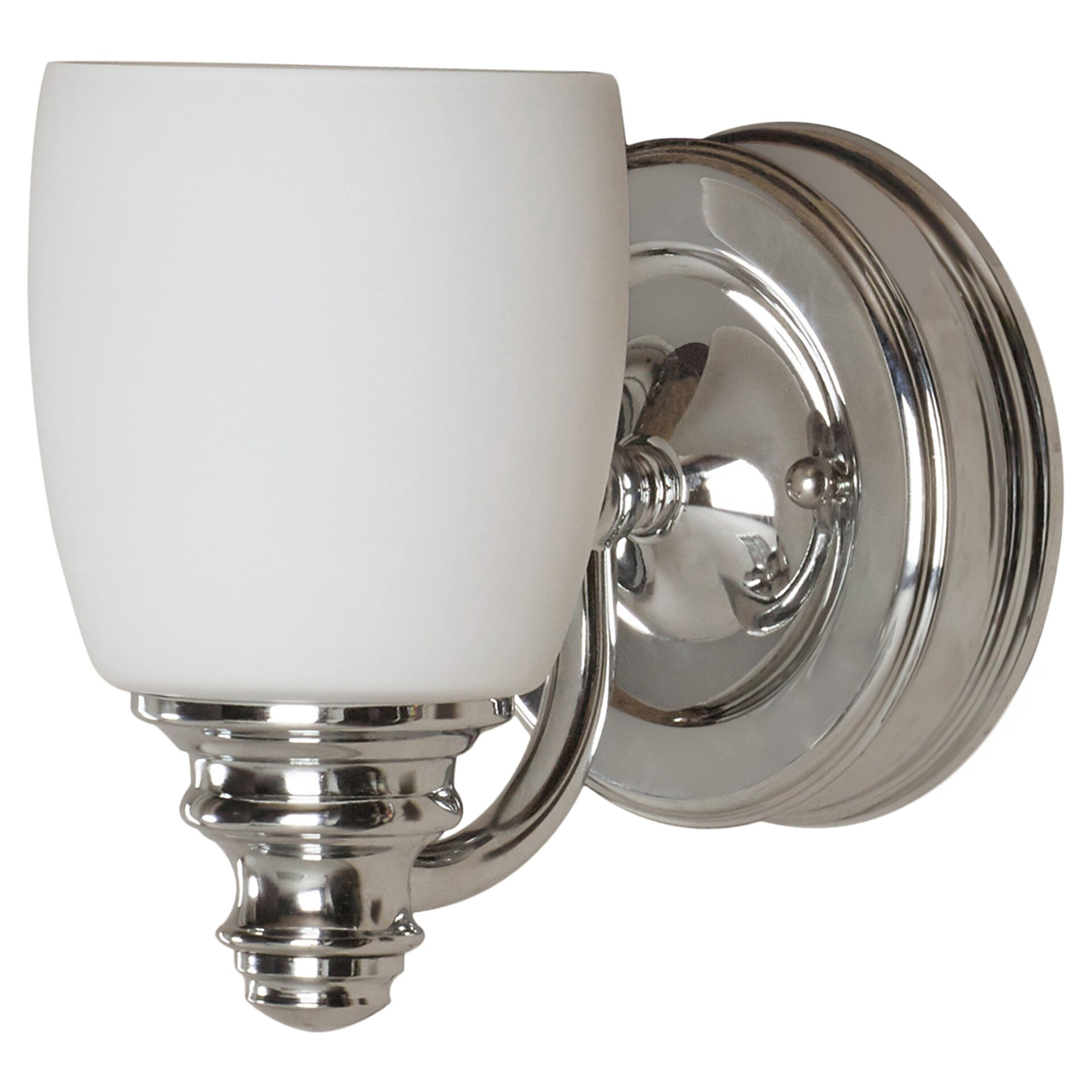 Wall Sconce With Magnifying Glass : Alcott Hill Hamptonburgh 1 Light Wall Sconce & Reviews Wayfair