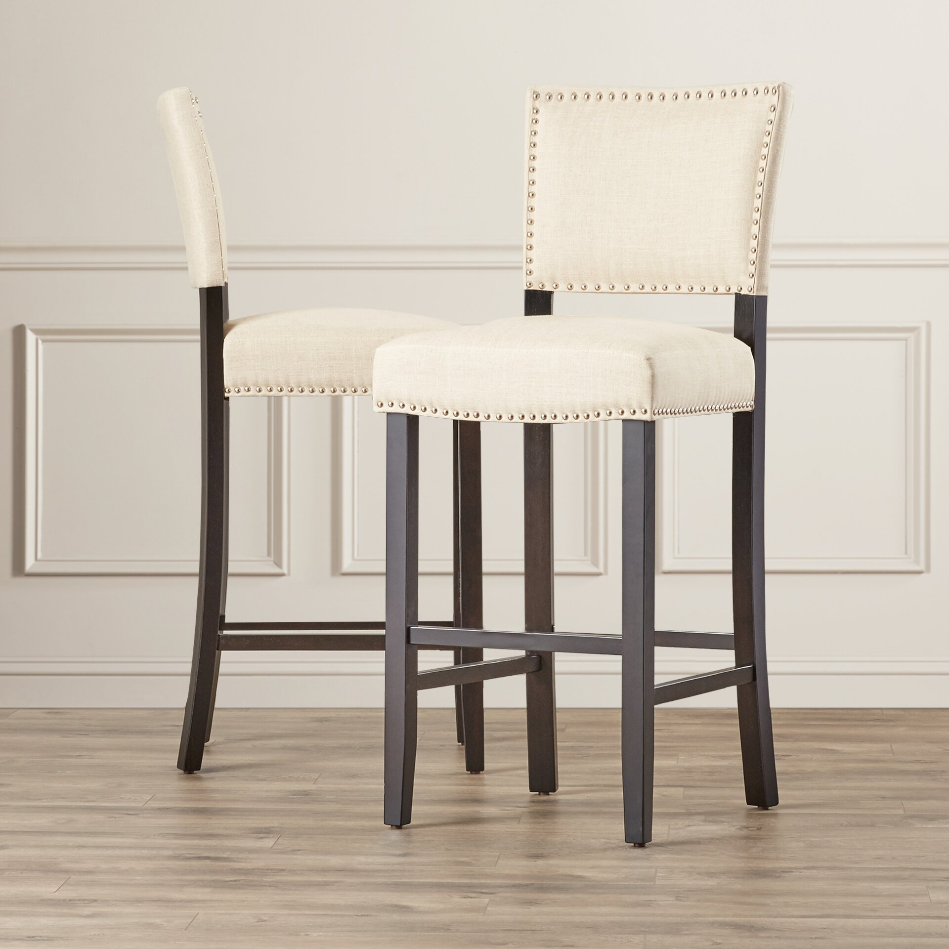 Alcott Hill Cleveland 30 5 Quot Bar Stool With Cushion