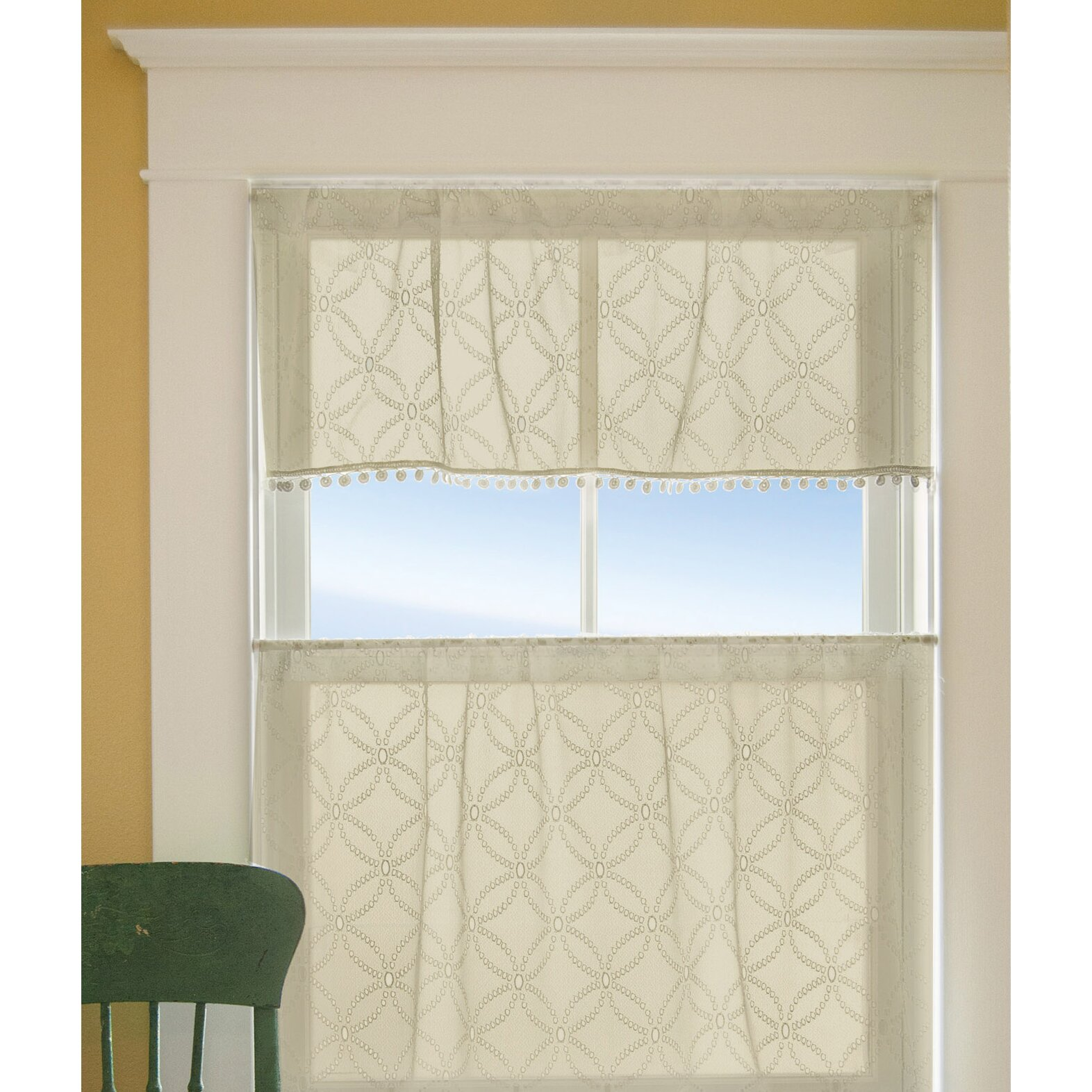 Kitchen Curtains And Valances: Alcott Hill Massasoit Kitchen Valance & Reviews