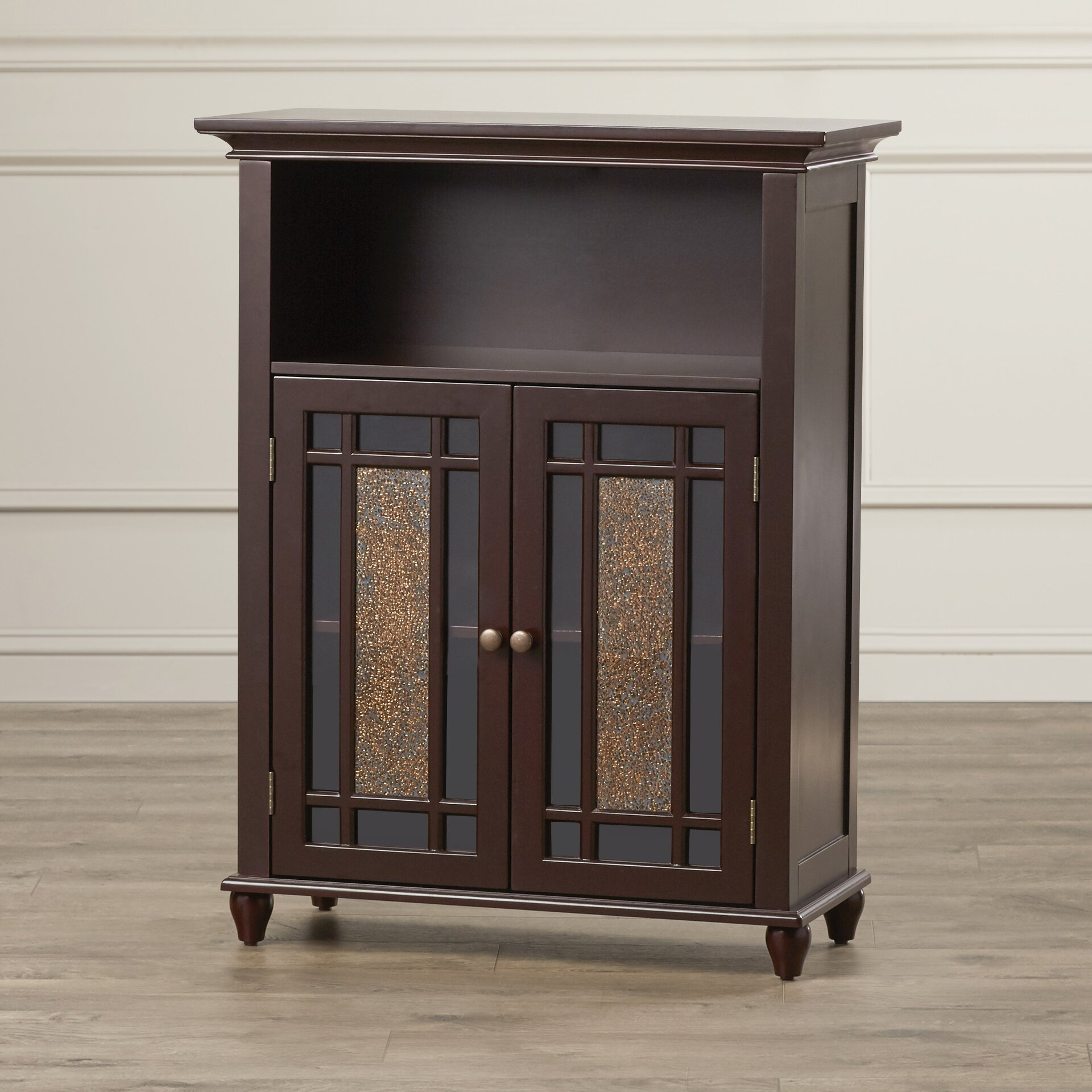 Alcott Hill Caleb 2 Door Floor Cabinet & Reviews | Wayfair