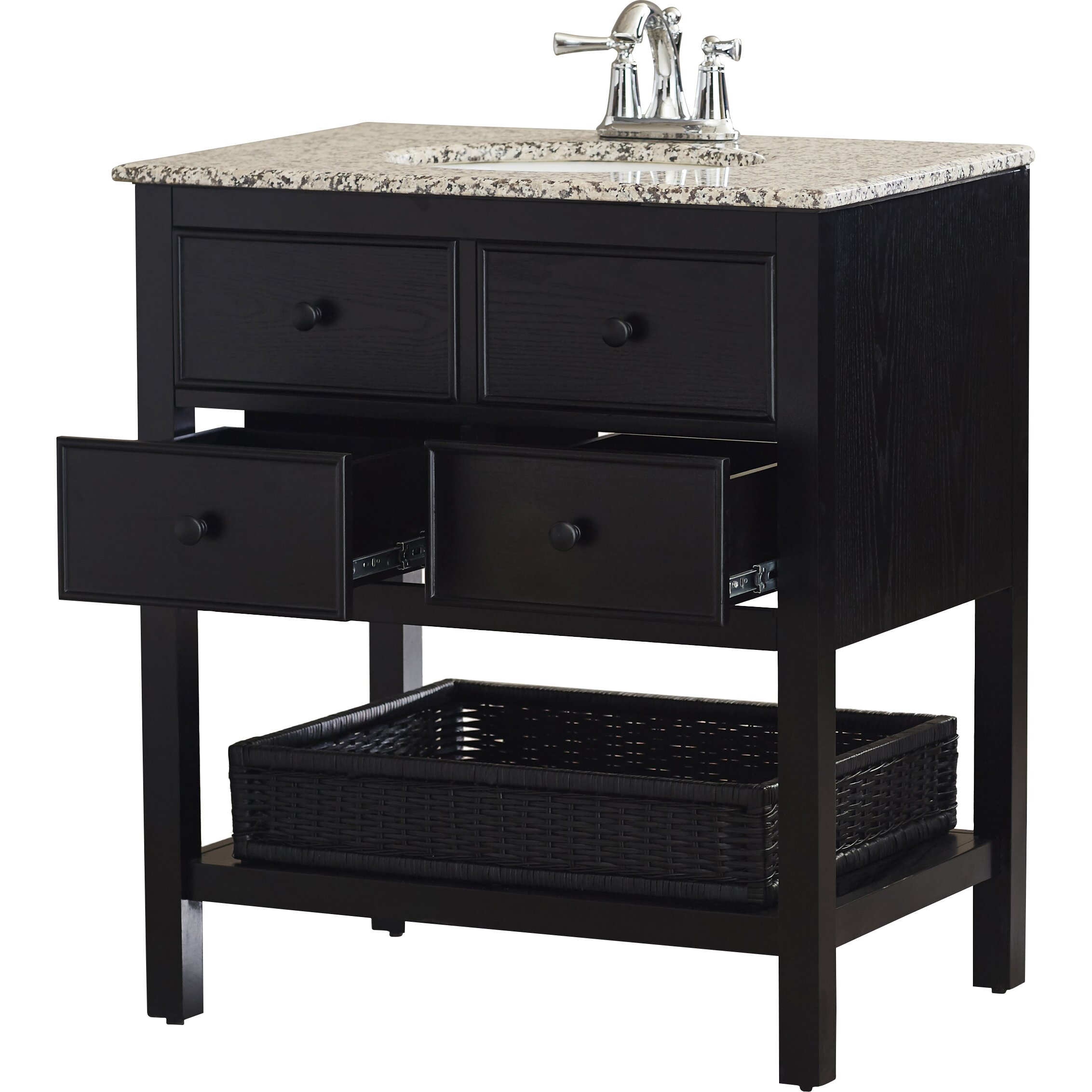 Alcott hill gettysburg 30 single bathroom vanity set for Bathroom vanity sets for sale