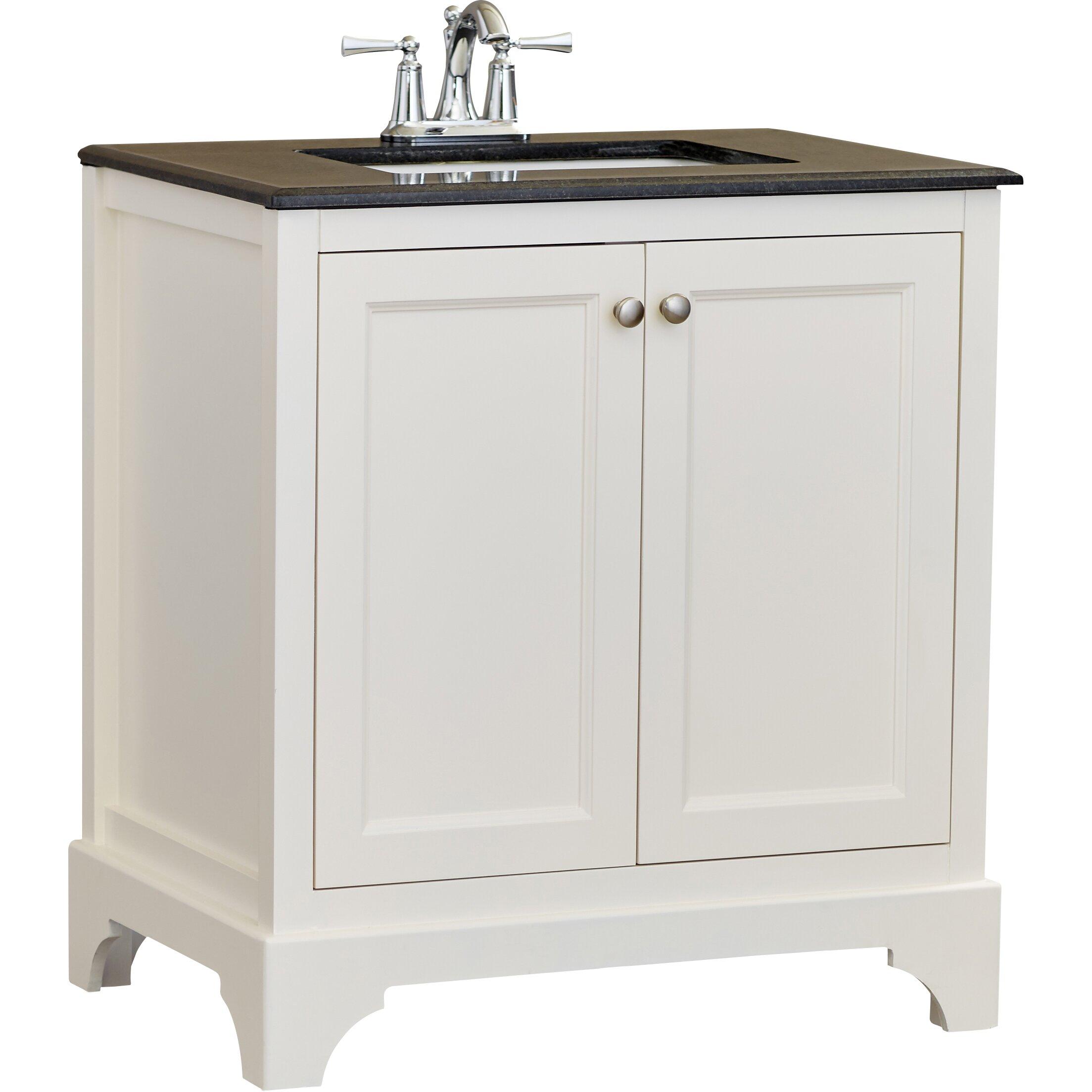 alcott hill clifton 31 quot single bathroom vanity set