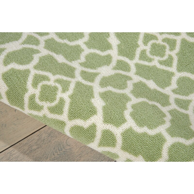 Apple Green Area Rug