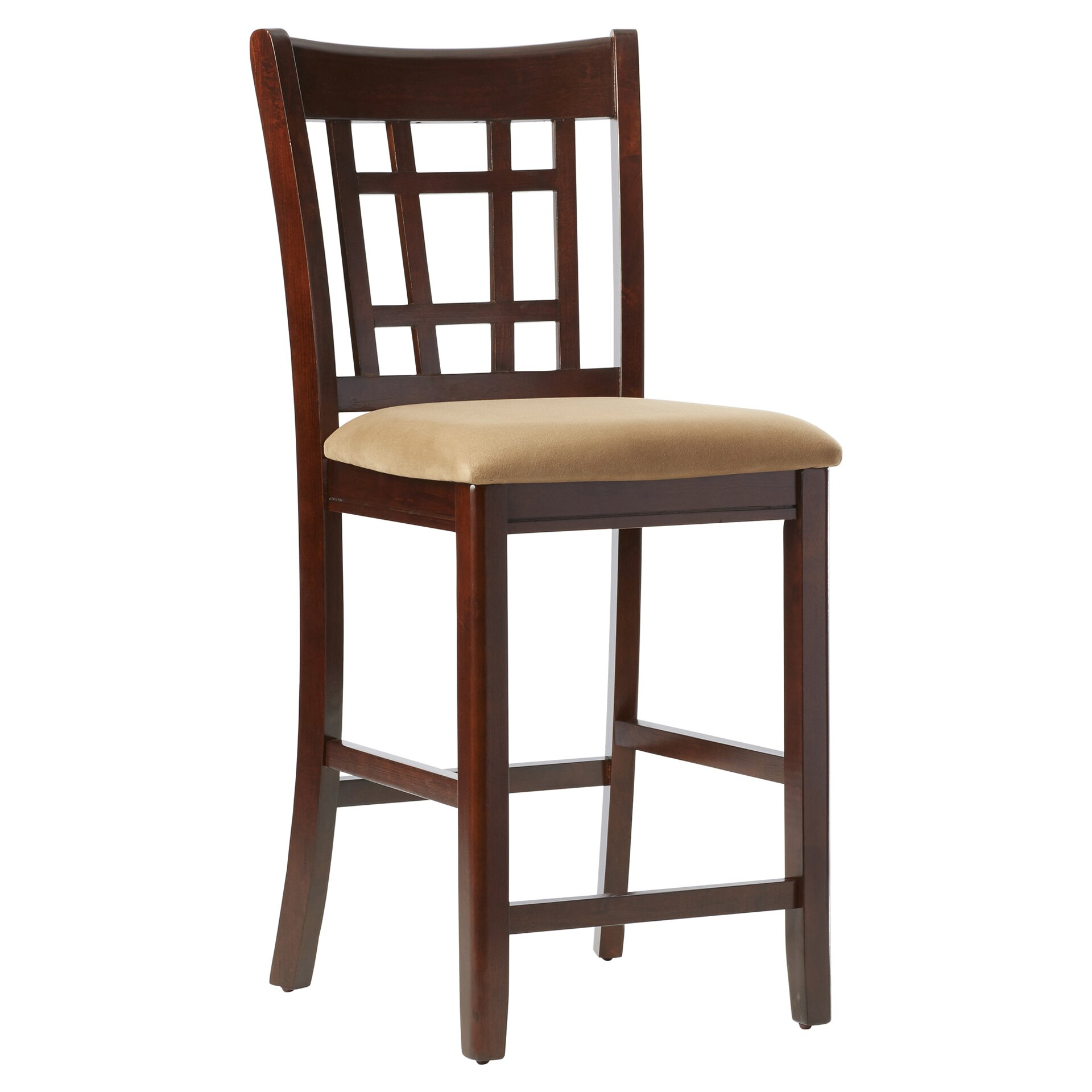 Alcott Hill Norwalk 24 Quot Bar Stool With Cushion Amp Reviews