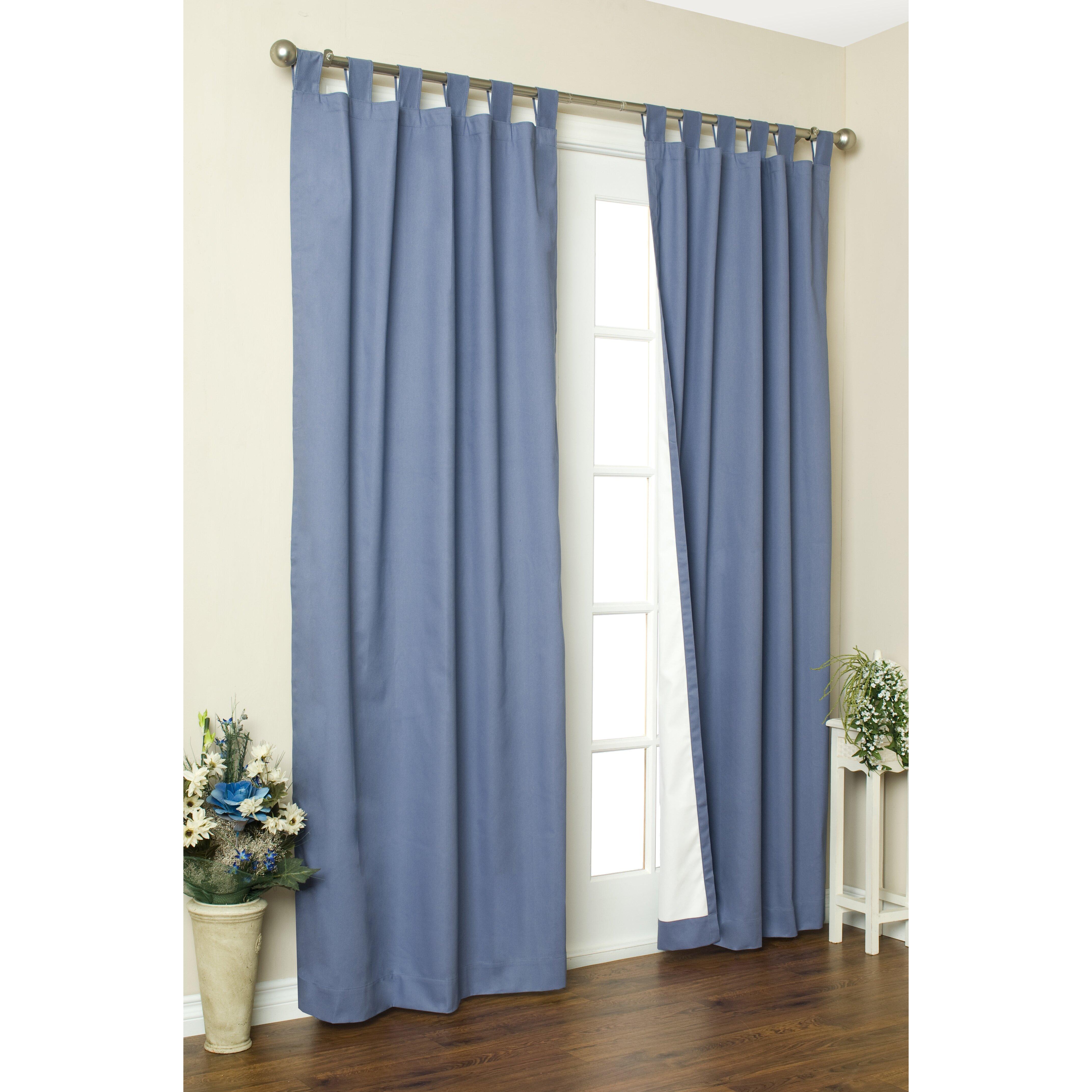 Alcott Hill Ranger Thermal Tab Top Curtain Panels