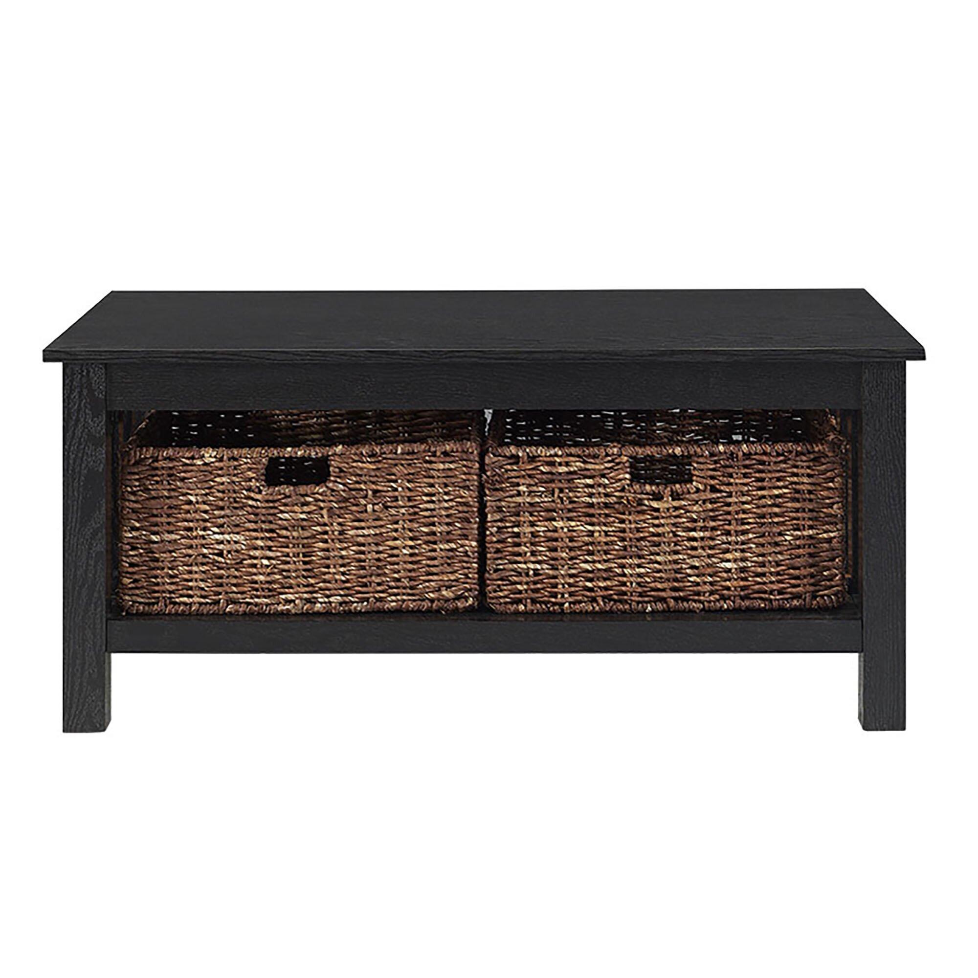 Alcott Hill Stillman Wood Storage Coffee Table Reviews