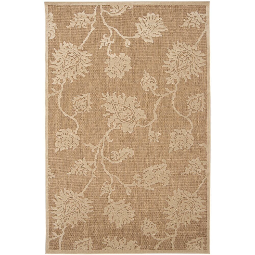 Charlton Home Gaither Ivory Outdoor Area Rug & Reviews