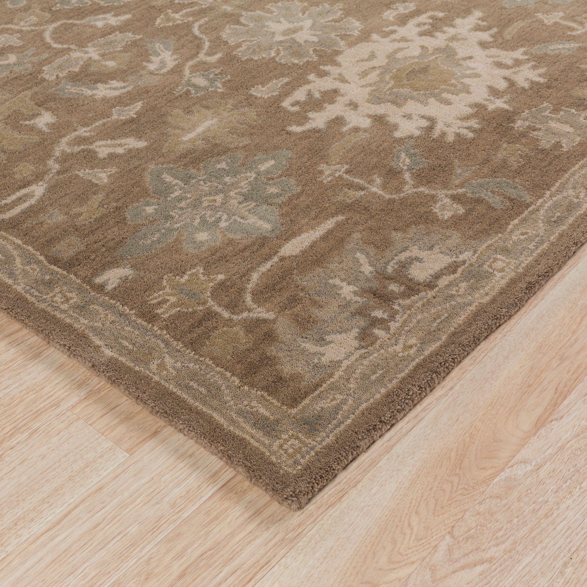 Charlton Home Whittaker Taupe Beige Area Rug Amp Reviews