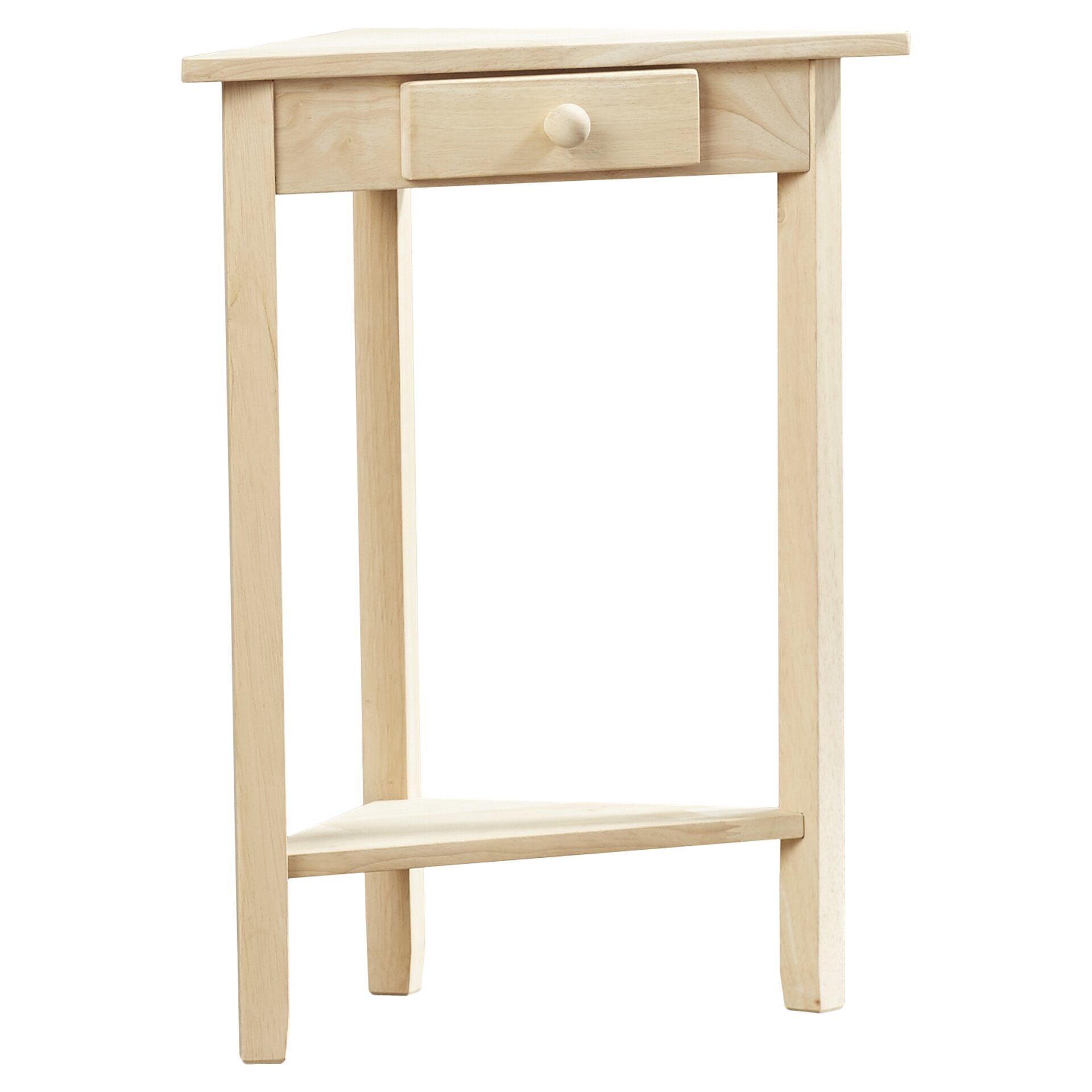 Charlton Home Luippold Corner Side Table Reviews Wayfair