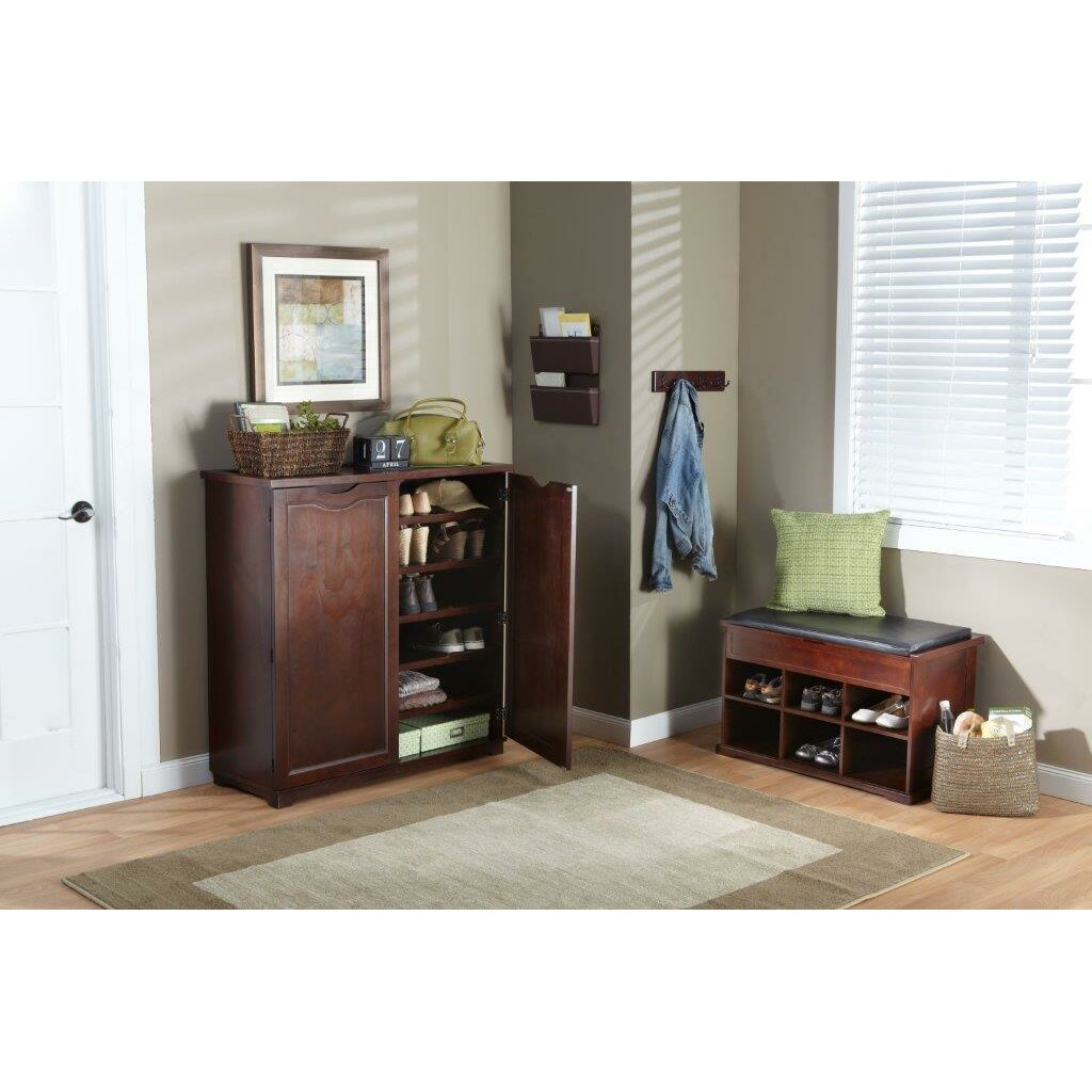 Charlton Home Barrentyne Shoe Storage Bench Reviews