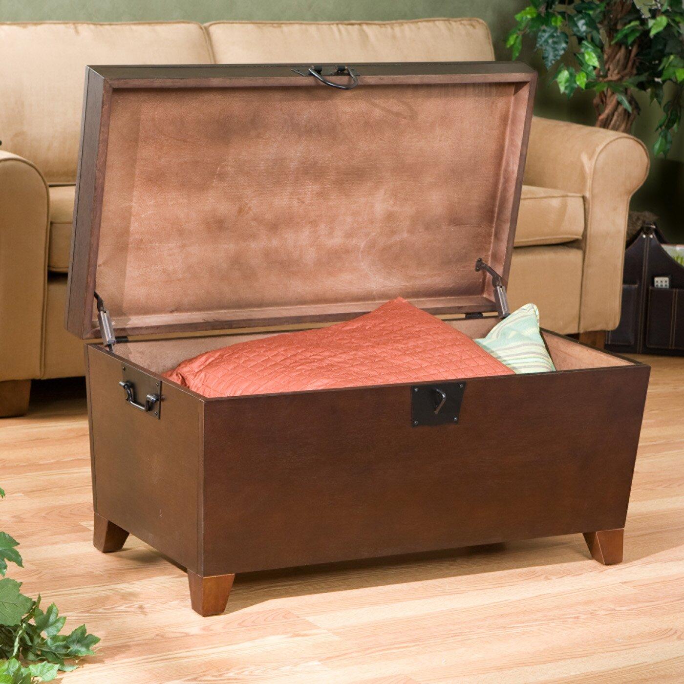 charlton home bischoptree storage trunk coffee table reviews wayfair. Black Bedroom Furniture Sets. Home Design Ideas