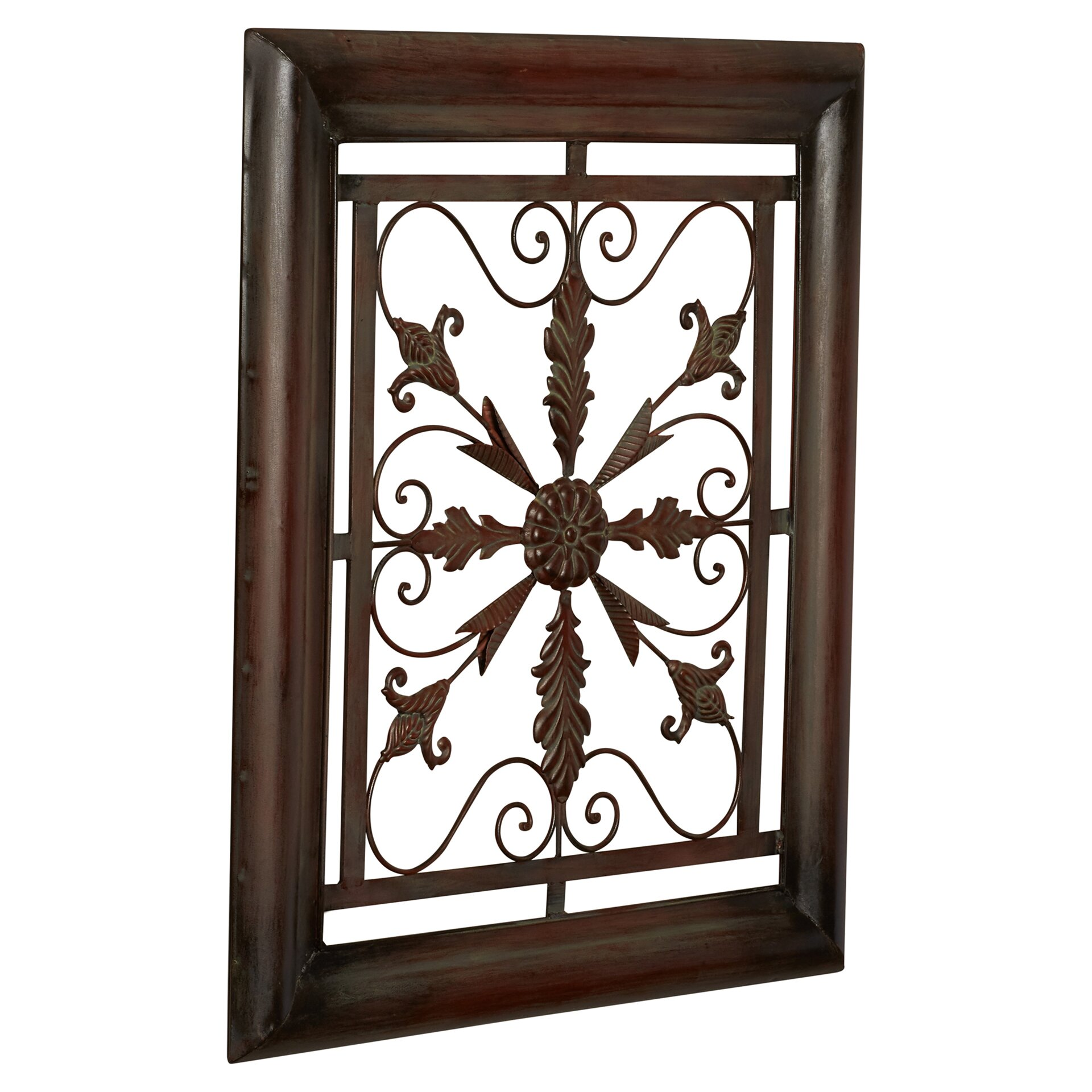 Charlton Home Bayliss Square Scroll Wall Decor Reviews