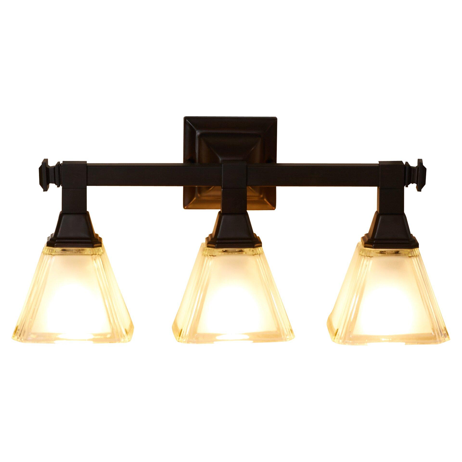 Charlton Home Gahagan 3 Light Vanity Light & Reviews Wayfair