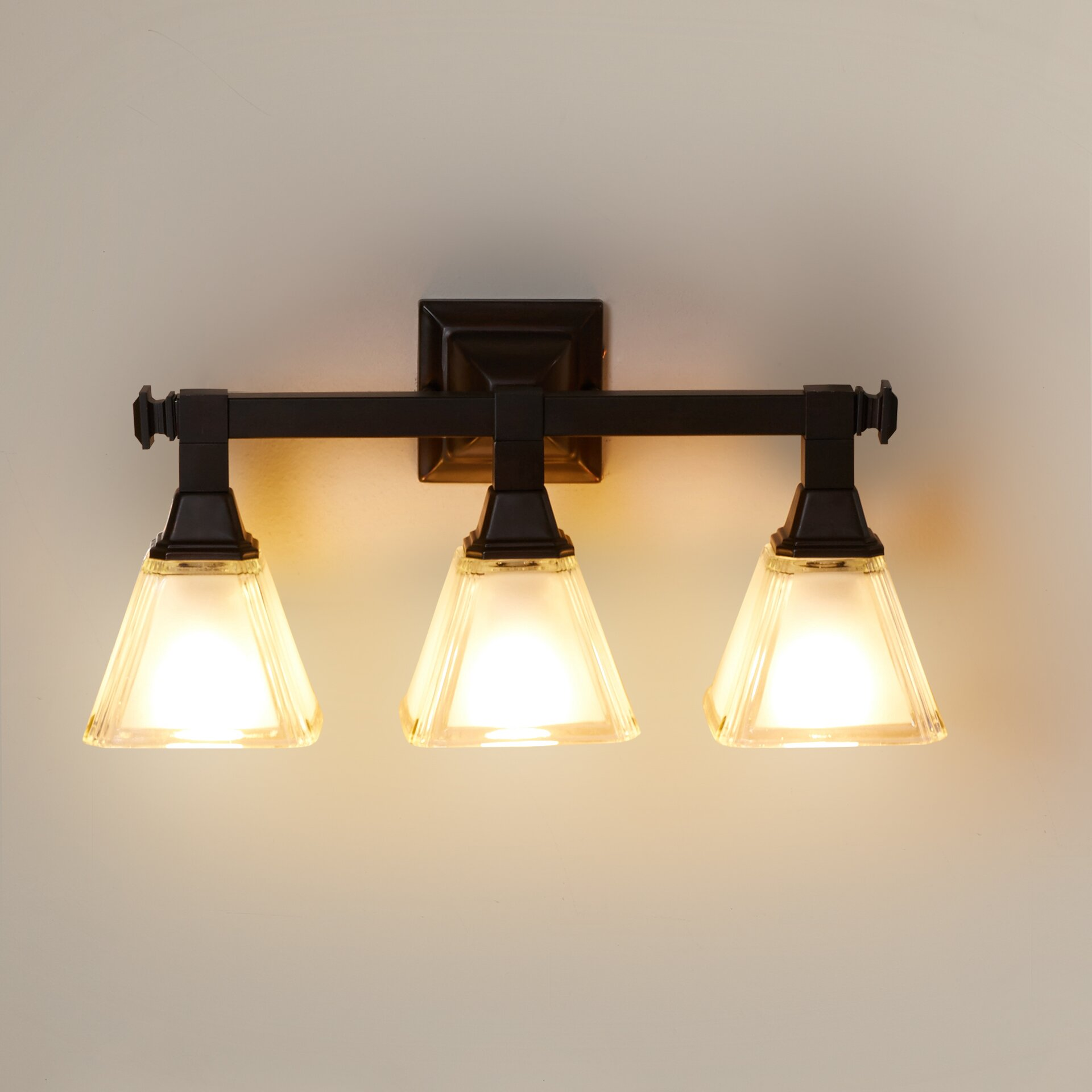 Charlton Home Gahagan 3 Light Vanity Light & Reviews