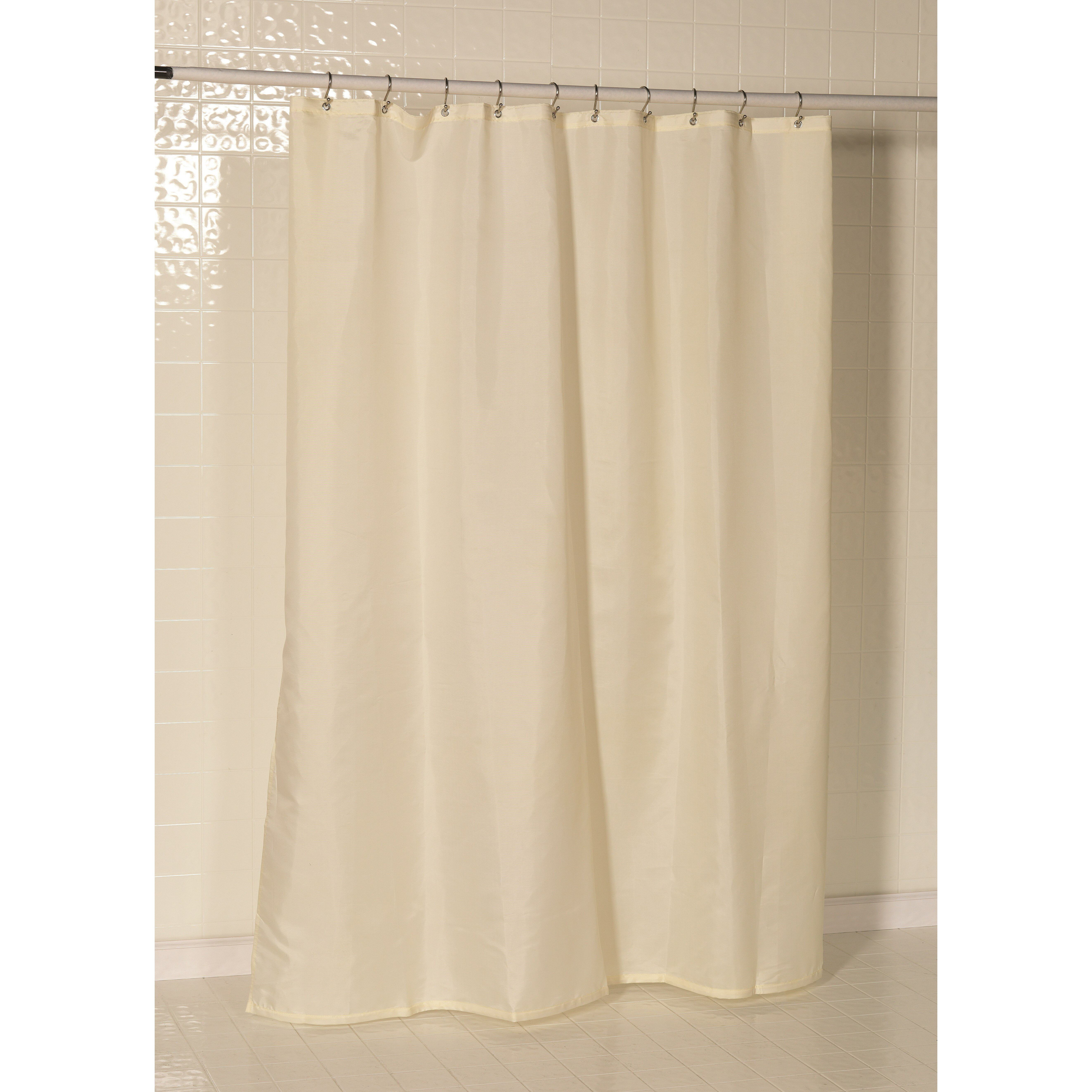 shower curtains and liners charlton home tamesbury nylon shower curtain liner