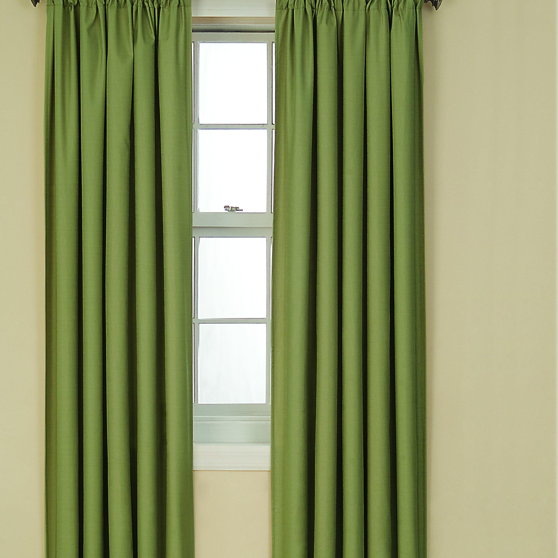 Charlton Home Columbia Rod Pocket Blackout Thermal Single Curtain Panel Reviews Wayfair