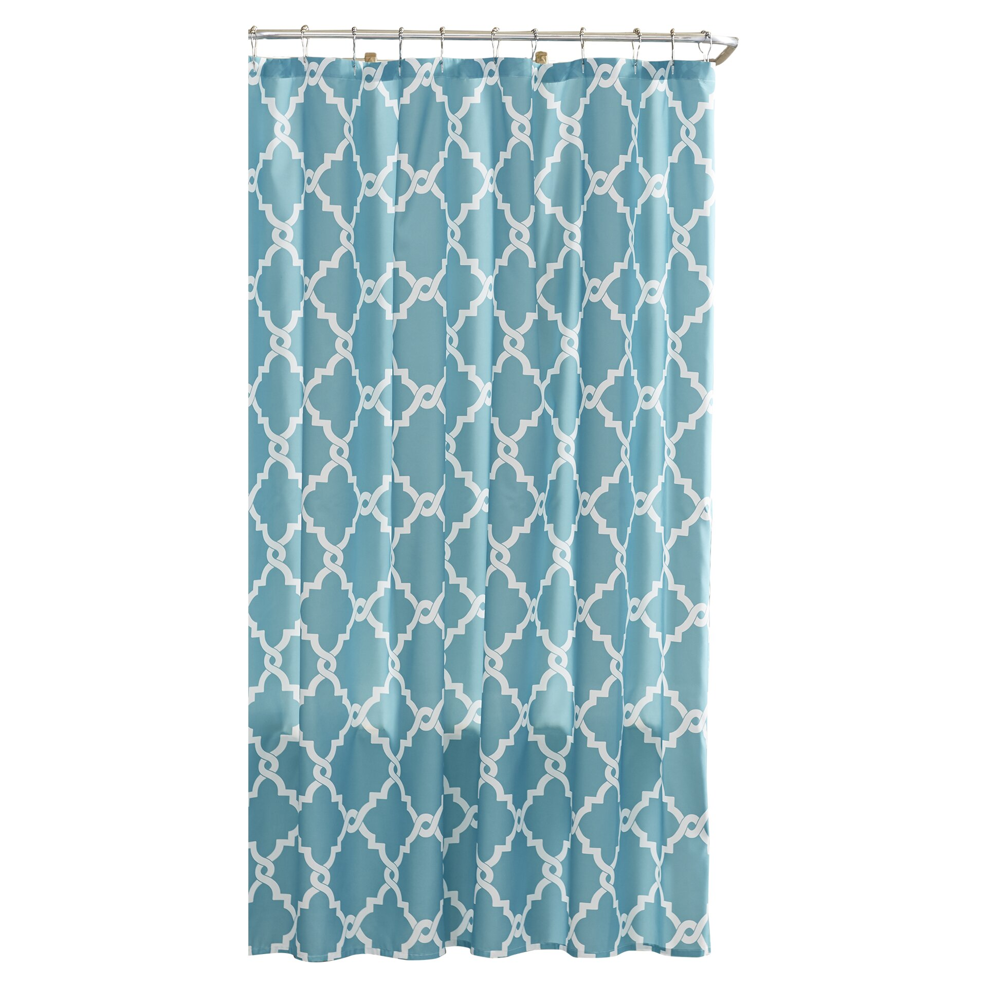 Charlton Home Laverick Microfiber Shower Curtain Amp Reviews