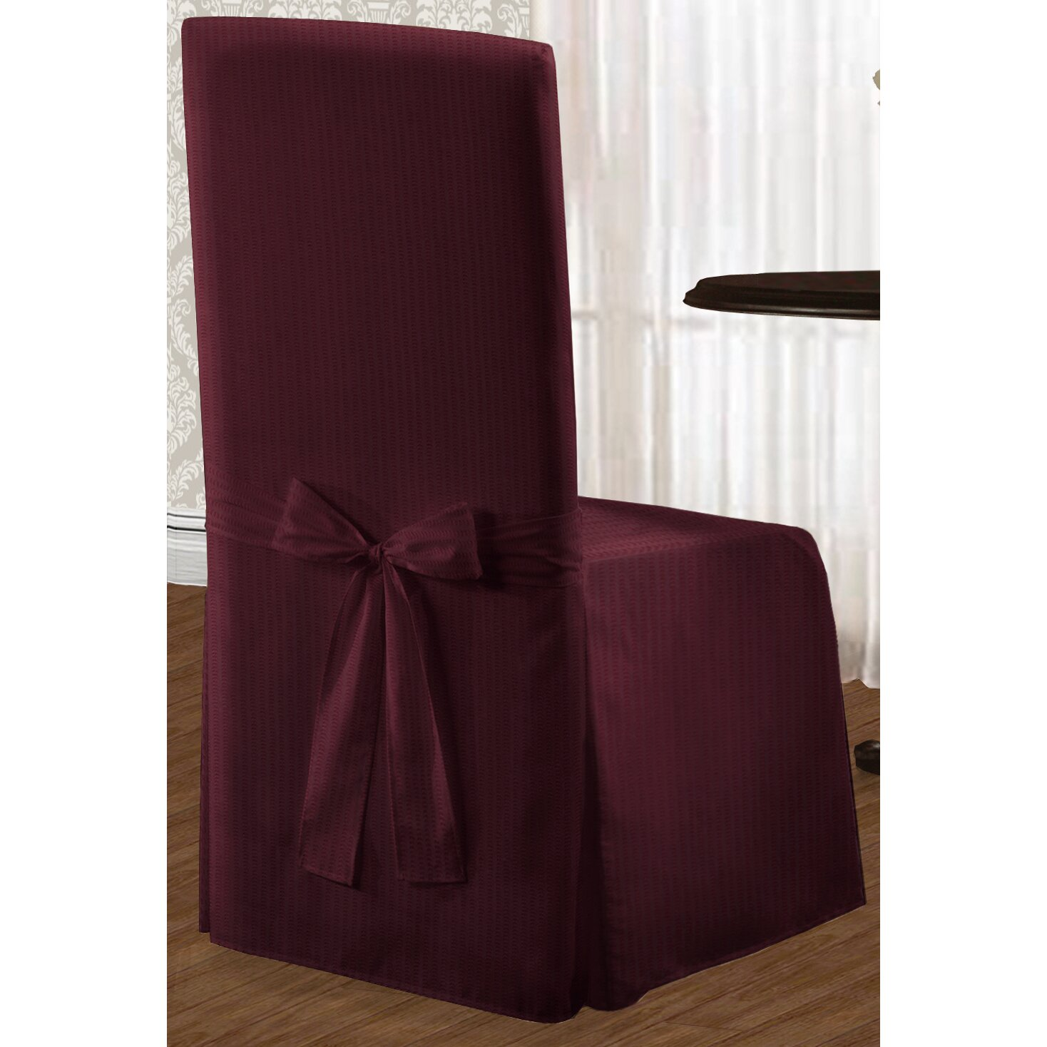 Charlton Home Parson Chair Slipcover Reviews Wayfair