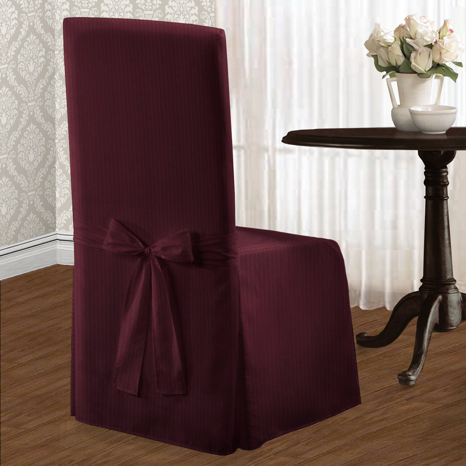 Charlton Home Parson Chair Slipcover & Reviews