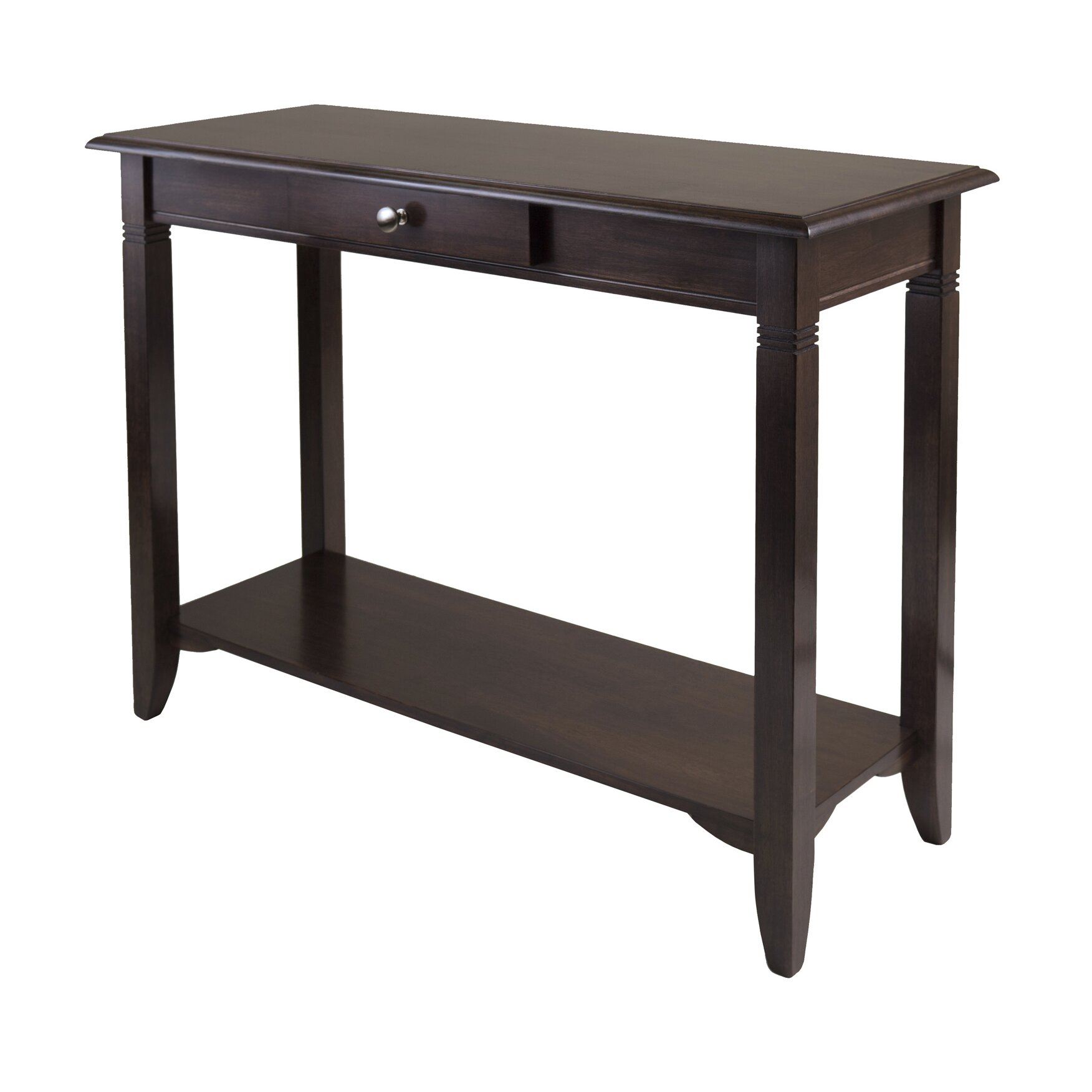 charlton home beckwood console table reviews wayfair. Black Bedroom Furniture Sets. Home Design Ideas