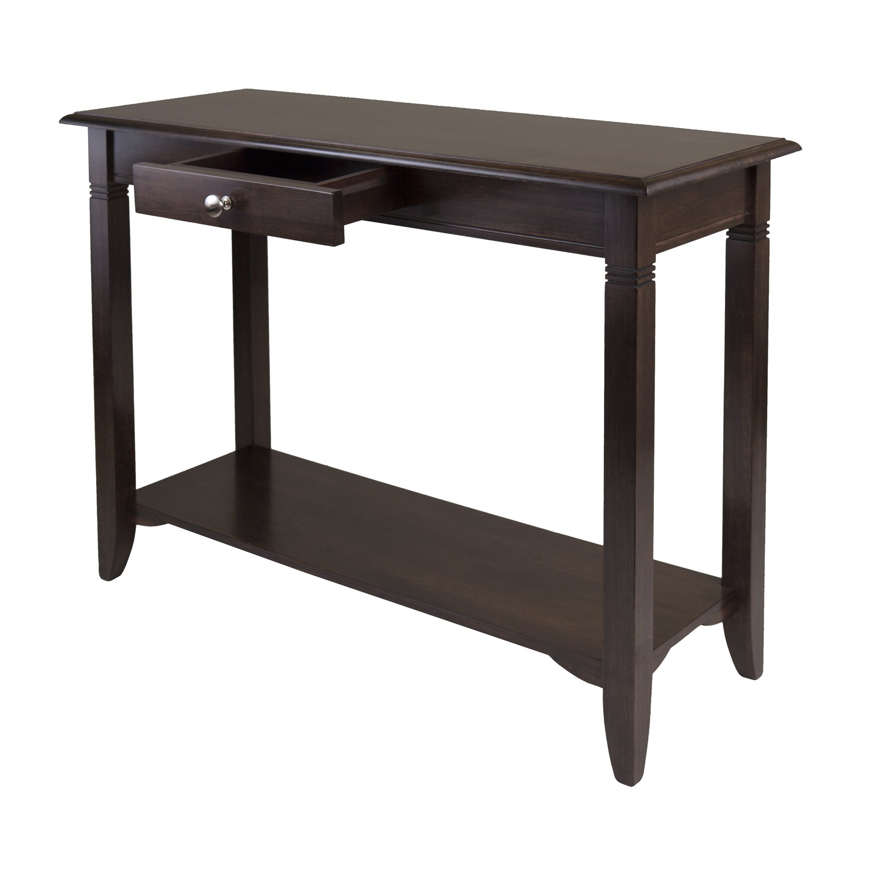 Charlton home beckwood console table reviews for Furniture table design examples