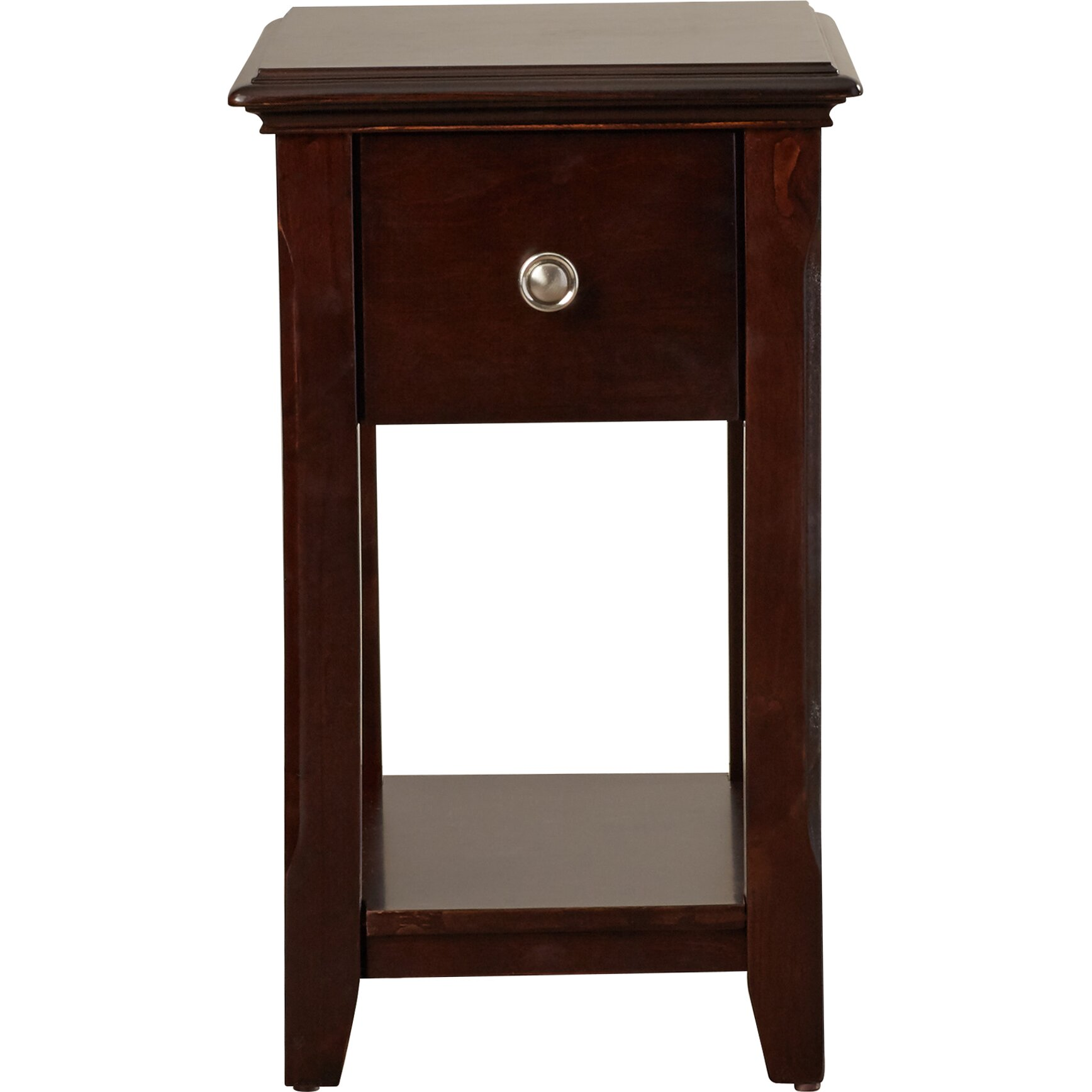 Charlton home bentonville end table reviews wayfair for End tables for sale near me