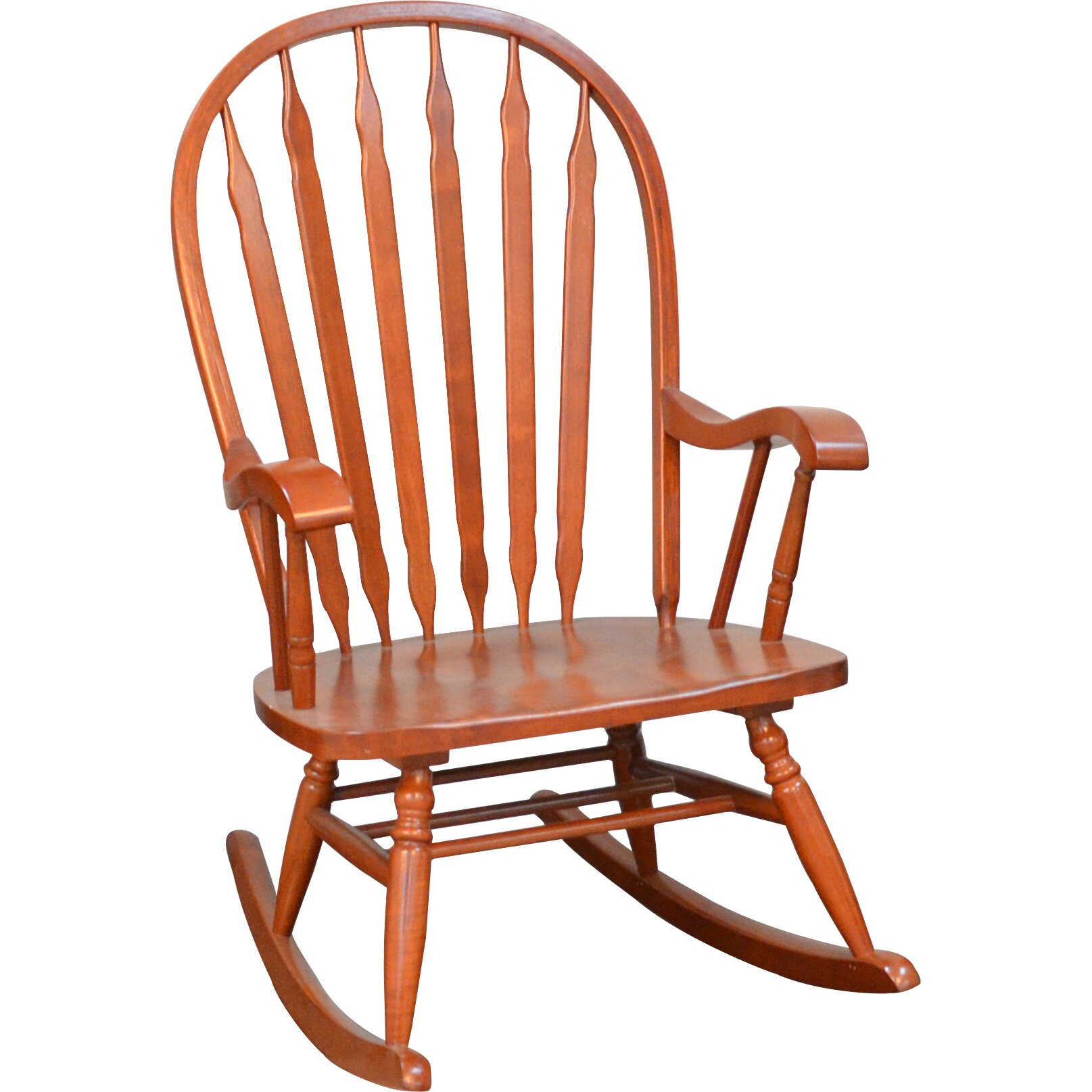 Charlton Home Five Acres Rocking Chair & Reviews  Wayfair