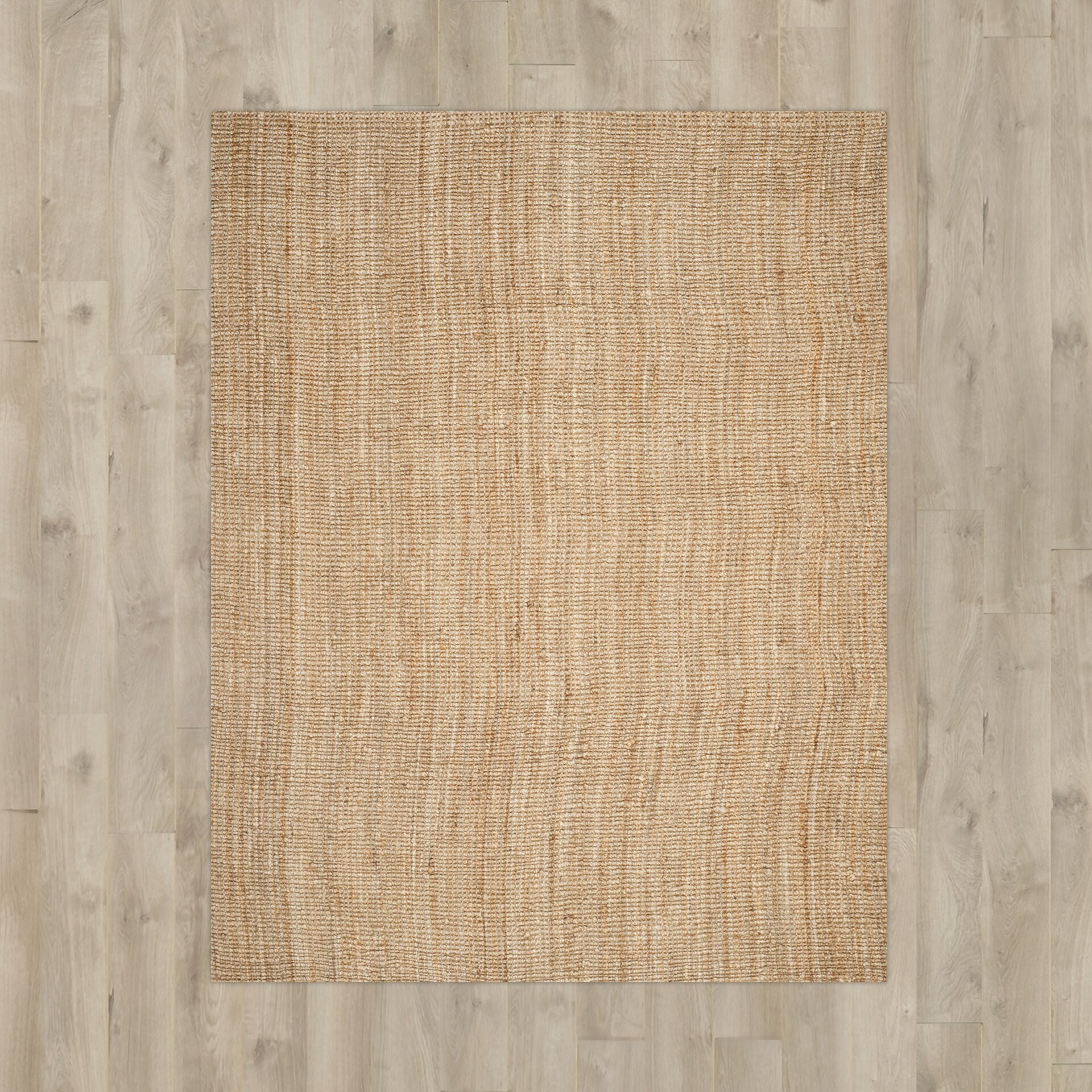 Charlton Home Gaines Natural Contemporary Area Rug