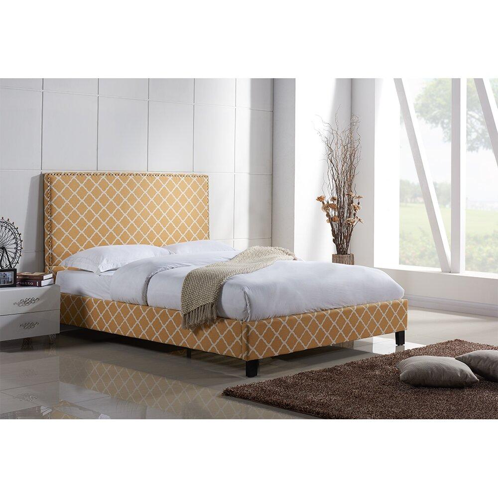 Lura Upholstered Platform Bed