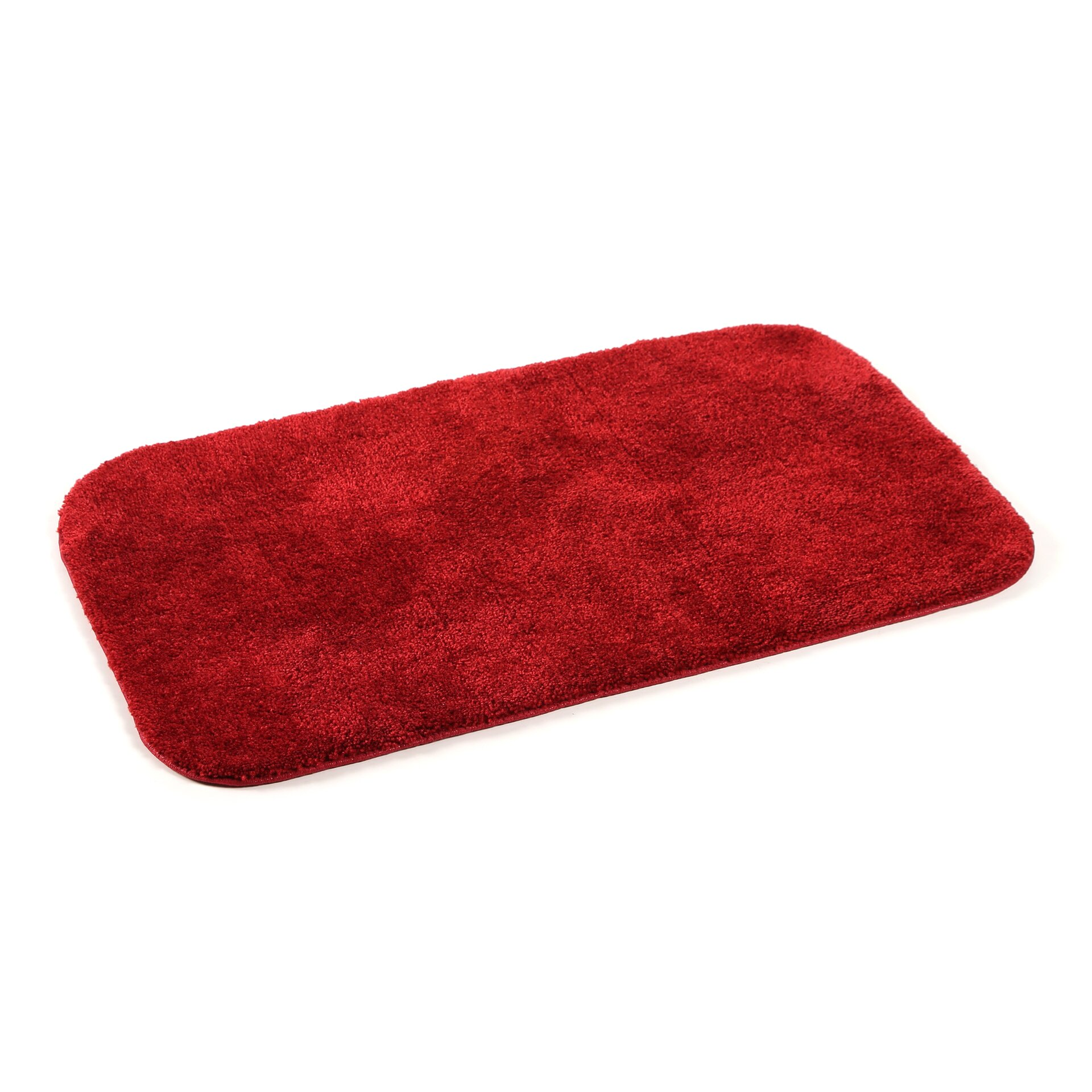 Charlton Home Stanley 2 Piece Red Bath Rug Set & Reviews