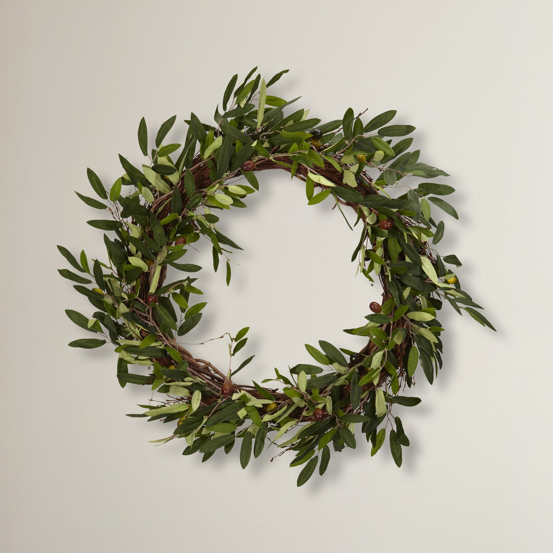 Charlton Home Giada 20quot Faux Olive Wreath amp Reviews Wayfair : Giada Faux Olive Wreath CHLH1856 from www.wayfair.com size 1920 x 1920 jpeg 558kB