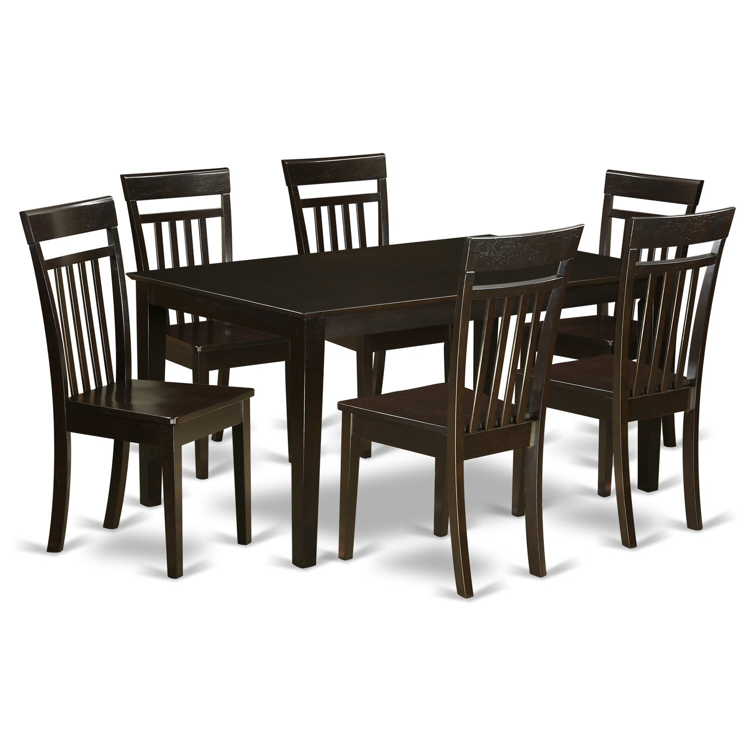7 Piece Dining Room Table Sets Charlton Home Smyrna 7 Piece Dining Set Amp Reviews Wayfair