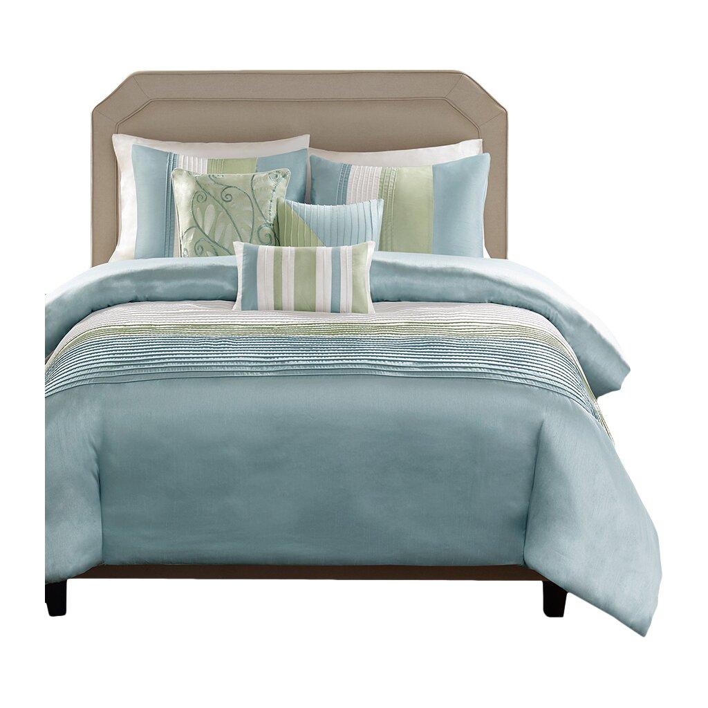 Charlton home allport 7 piece comforter set reviews for Home piece