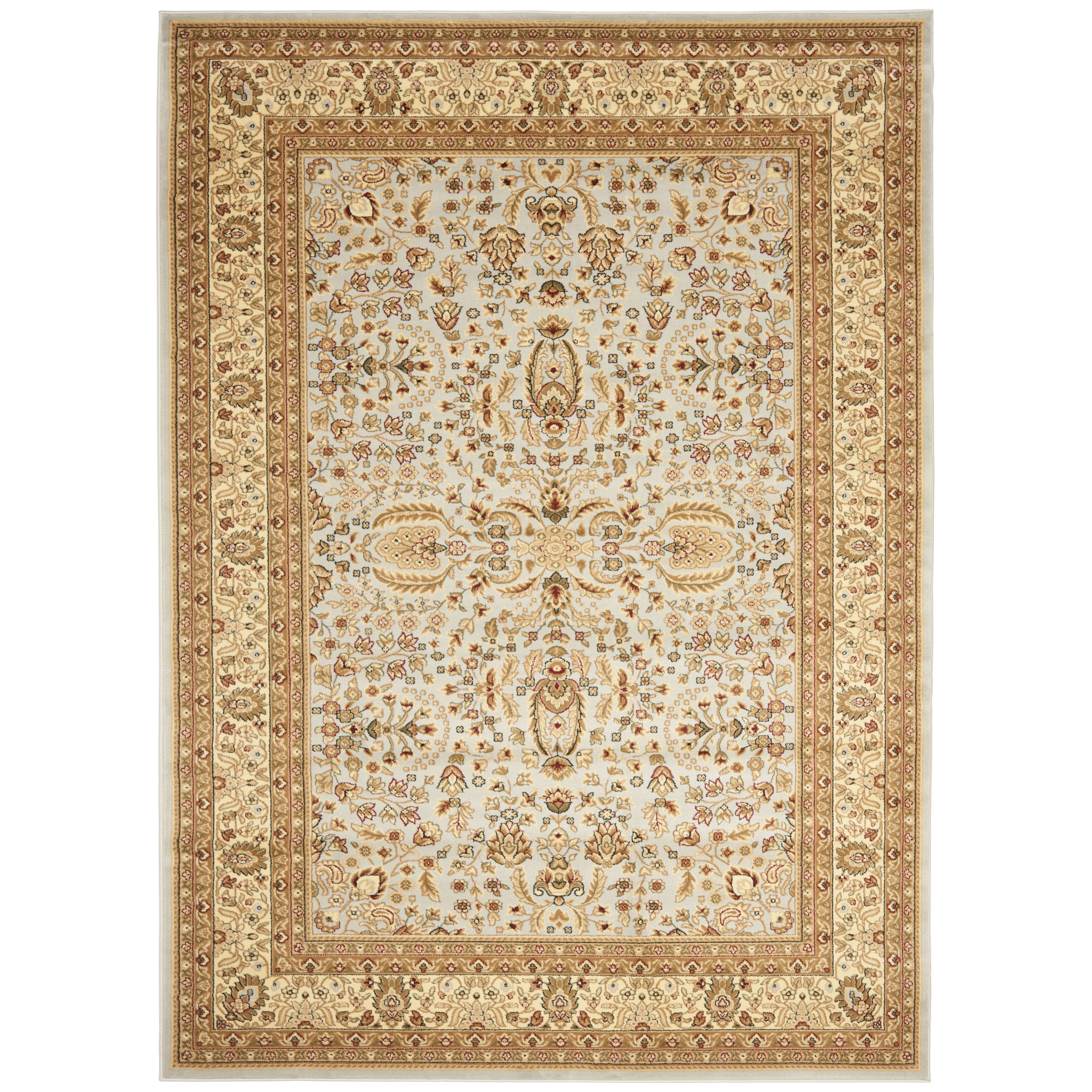 Charlton home ottis gray beige area rug reviews wayfair for Grey and tan rug