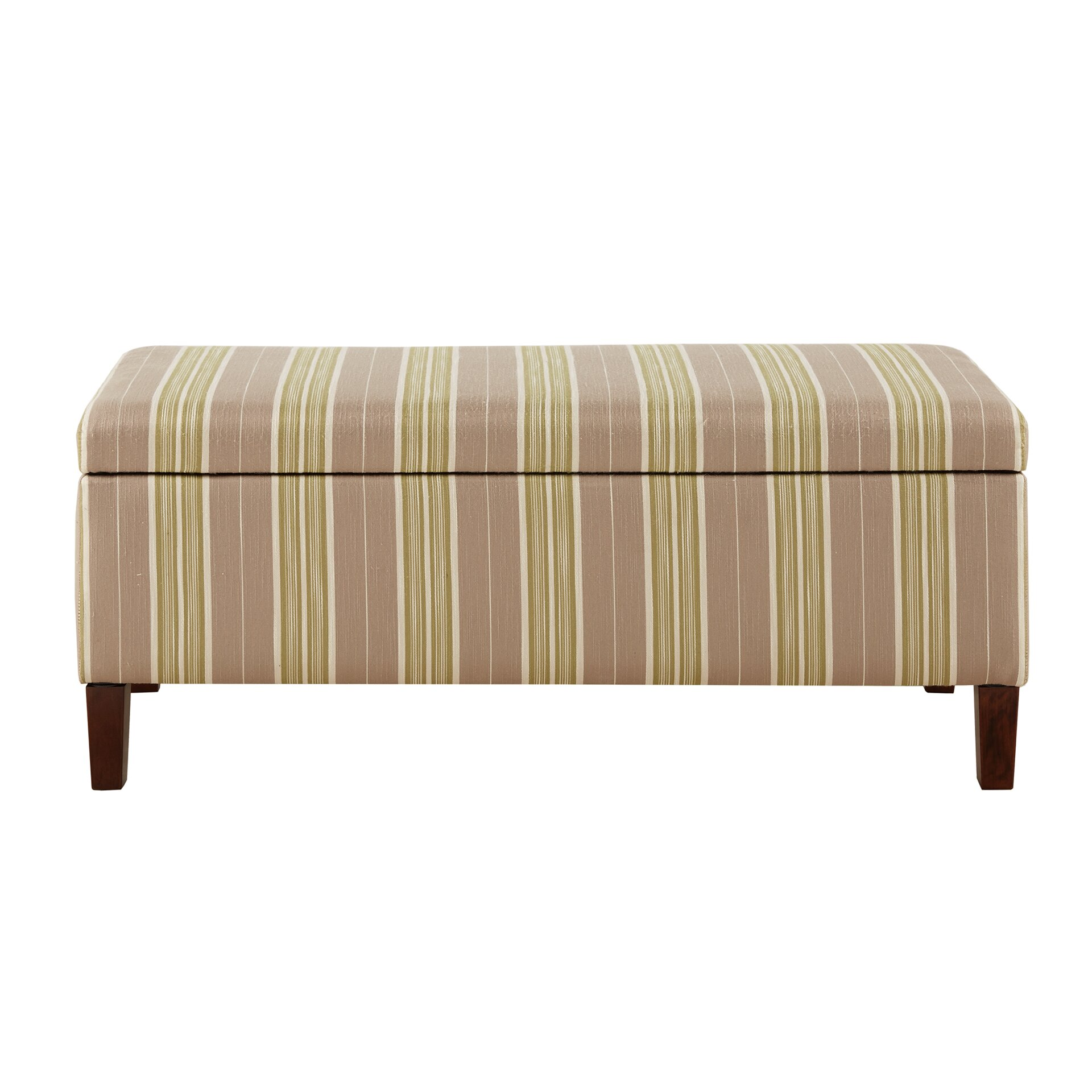 Charlton Home Chavers Upholstered Storage Entryway Bench