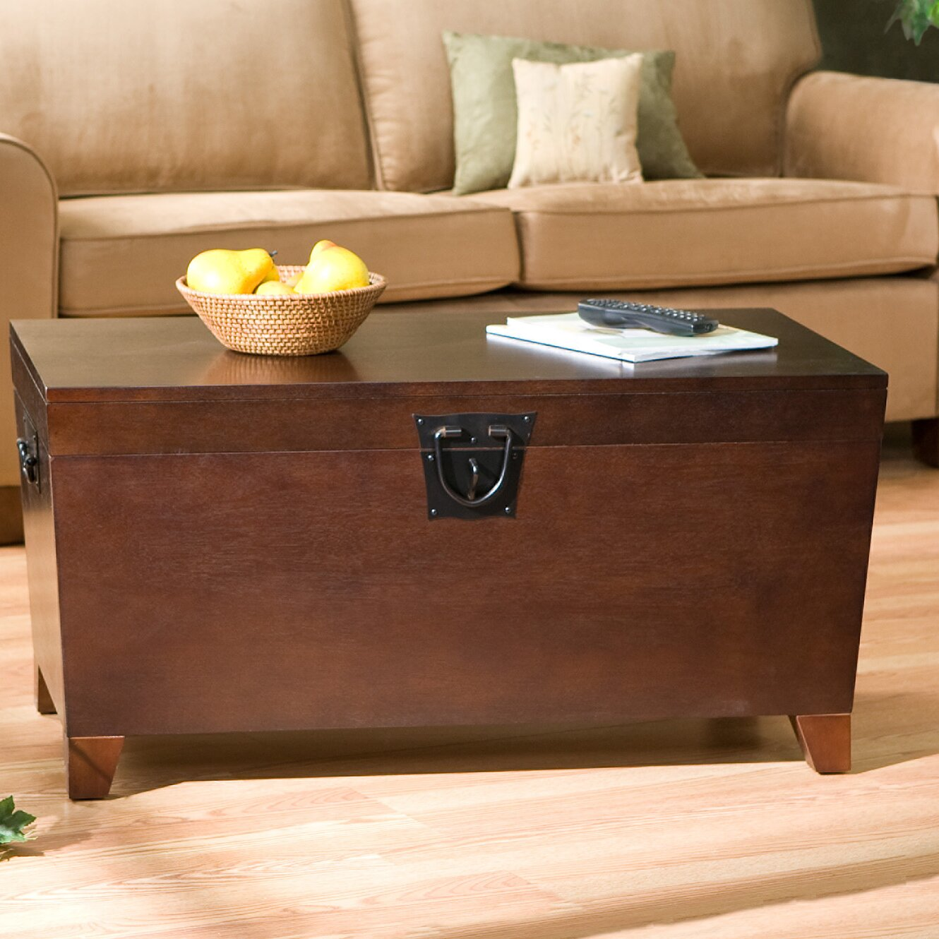 Charlton home bischoptree storage trunk coffee table for Home furniture coffee tables