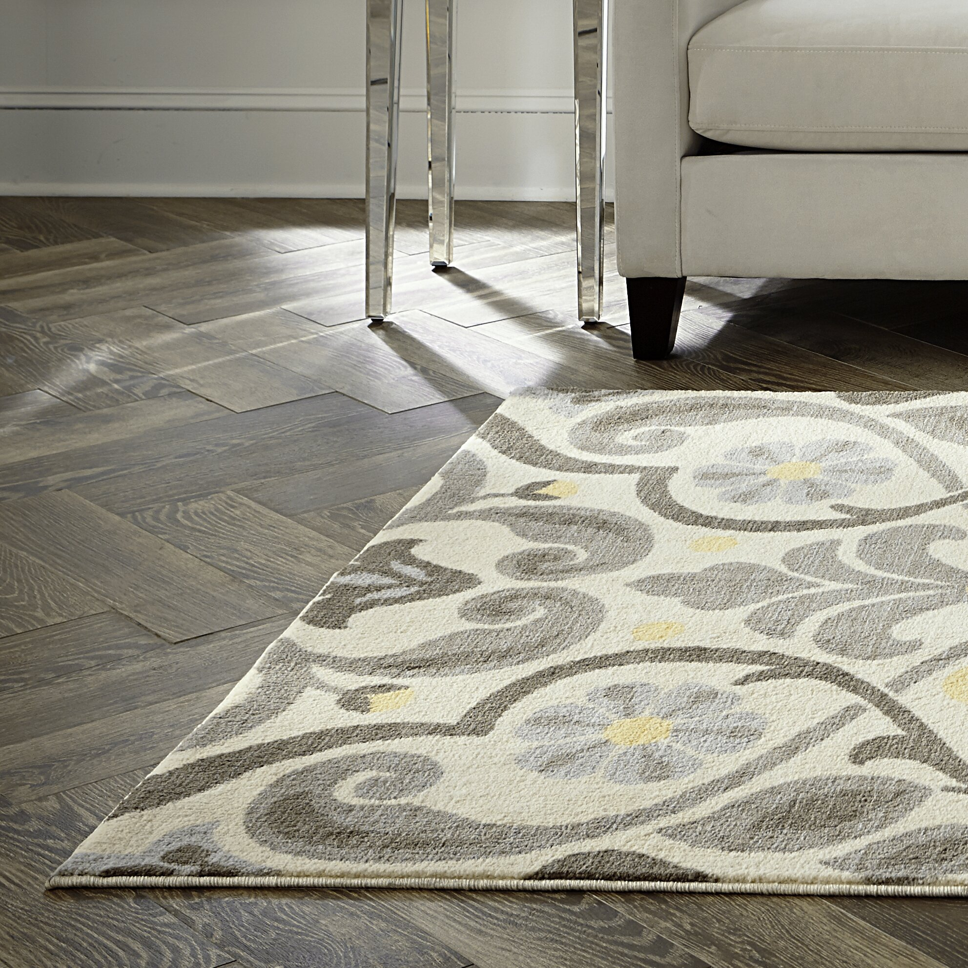 charlton home westwood scroll neutral area rug reviews