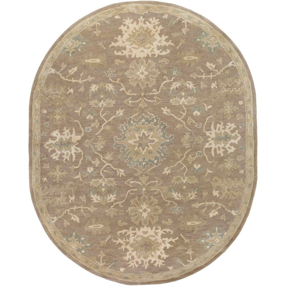 Charlton home whittaker taupe beige area rug reviews wayfair - Beige slaapkamer taupe ...