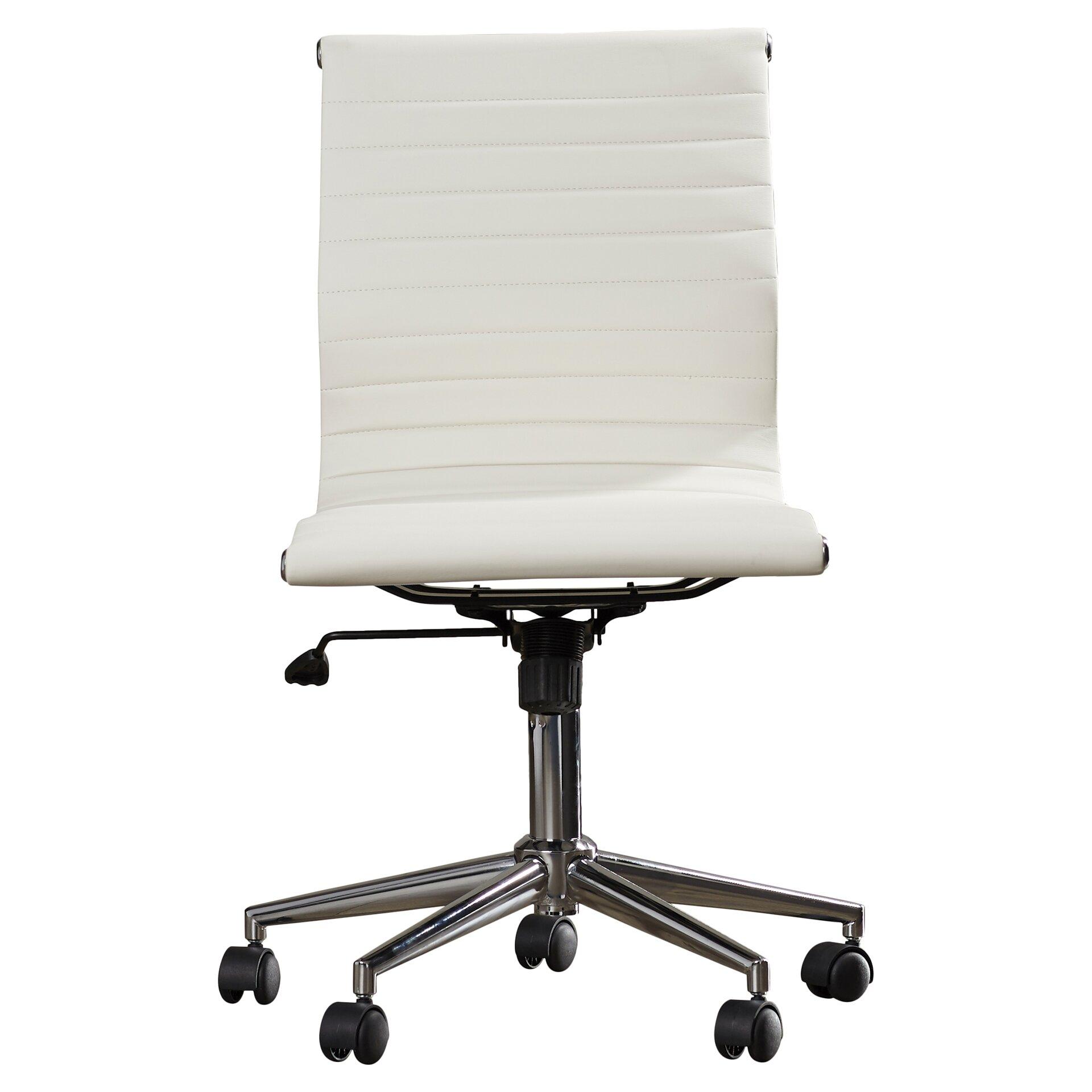 Varick Gallery Willowridge Mid Back Adjustable Office Chair Reviews W