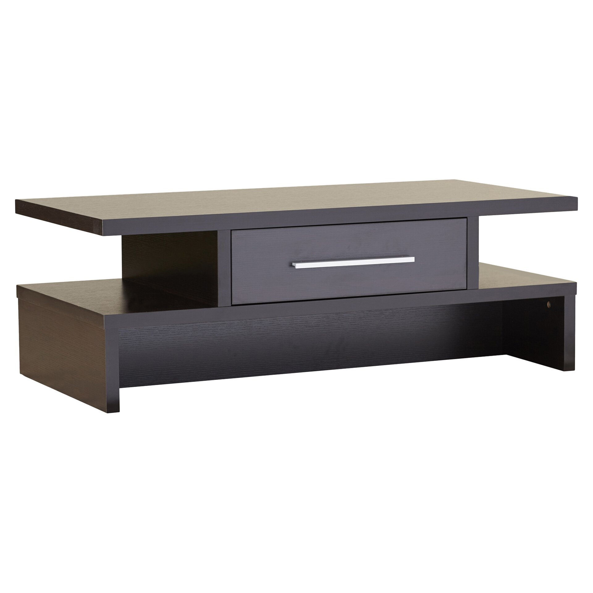Varick Gallery Rectangular One Drawer Coffee Table Reviews Wayfair
